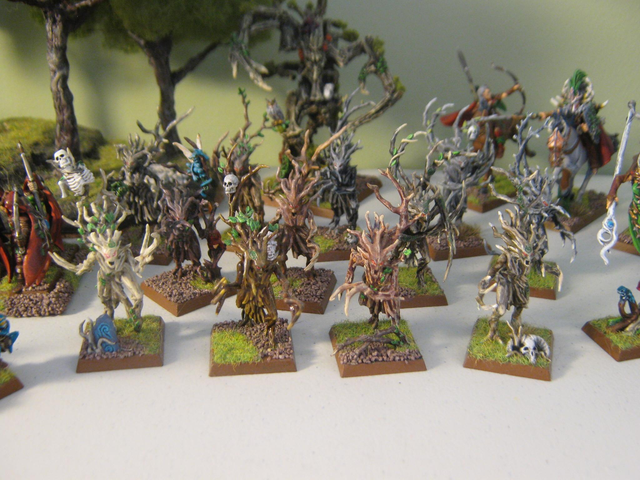 Bow, Dryads, Elves, Forest, Glade Guard, Spellsinger, Spellweaver, Sword, Treeman, Wardancer, Wardancers, Warhammer Fantasy, Warhawks, Wood, Wood Elves