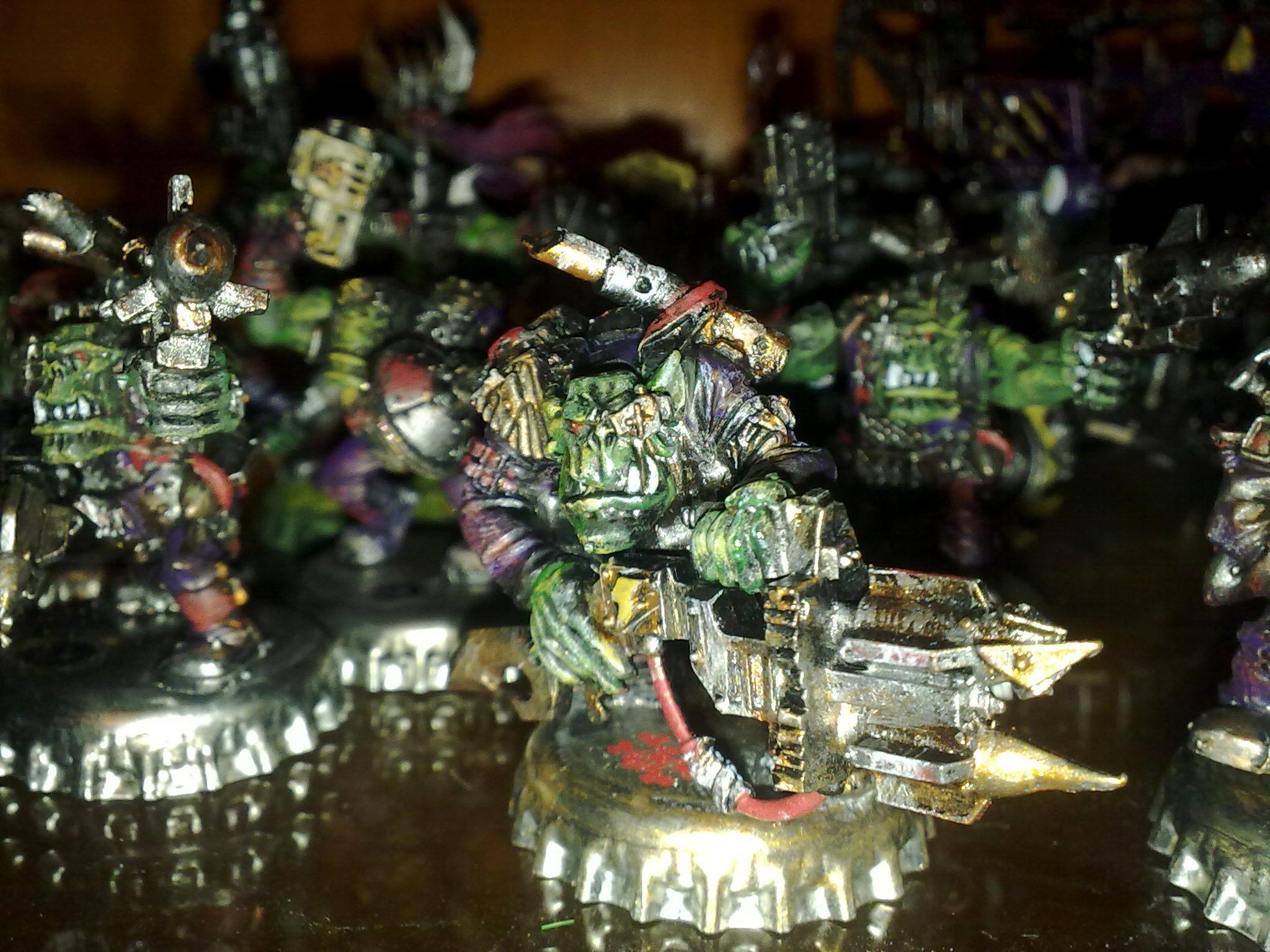 Orks, Painted, Tankbustas