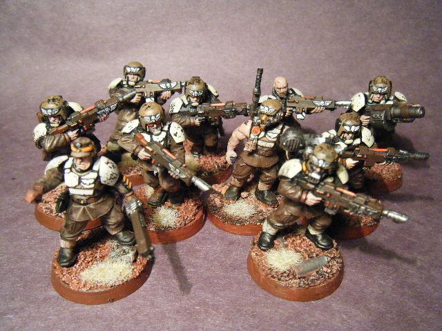 Imperial Guard, Infantry Squad, Warhammer 40,000