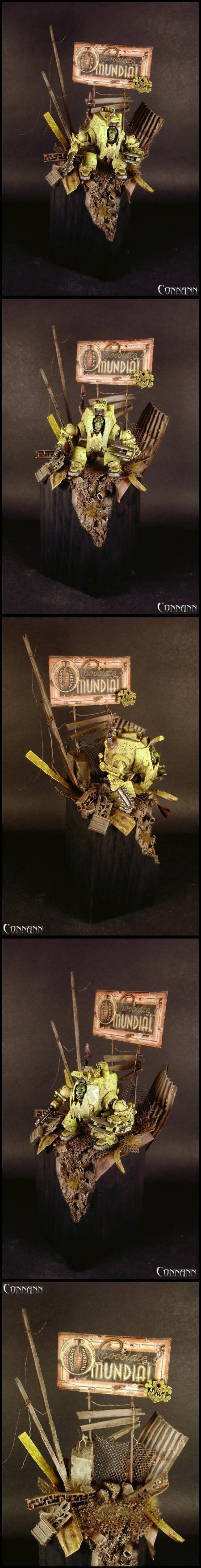 AT-43, Bad Moons, Diorama, Gretchin, Orks, Terrain, W40k, Warhammer 40,000