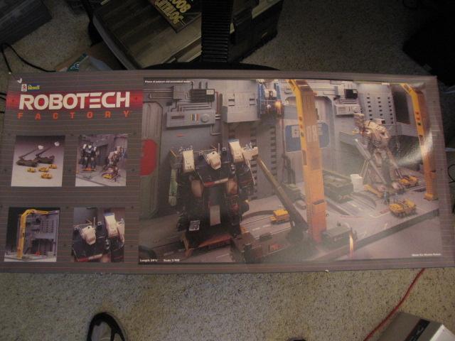 Box, Factory, Macross, Robotech