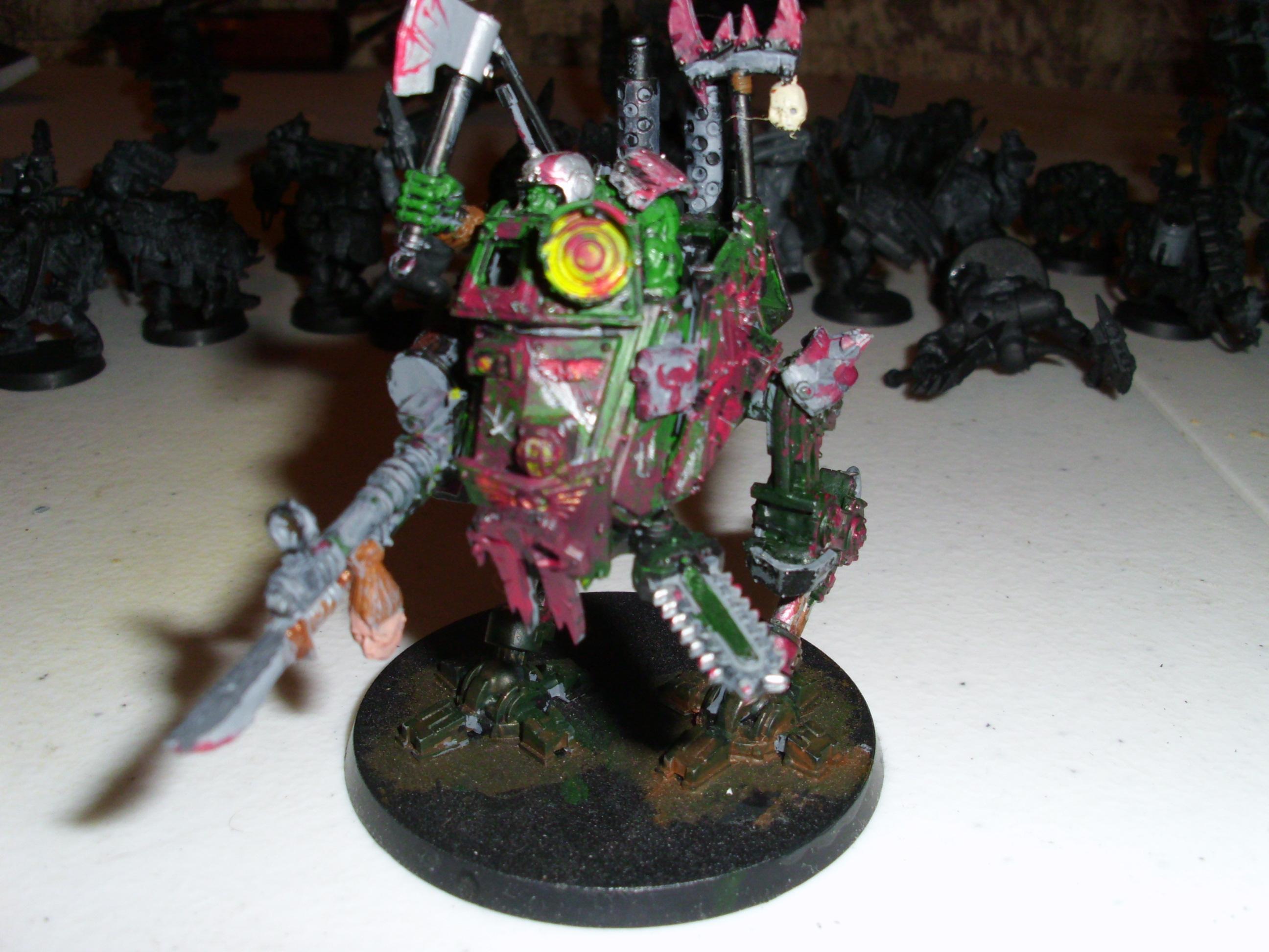 Imperial Guard, Killa Kan, Looted, Orks, Sentinel, Warhammer 40,000