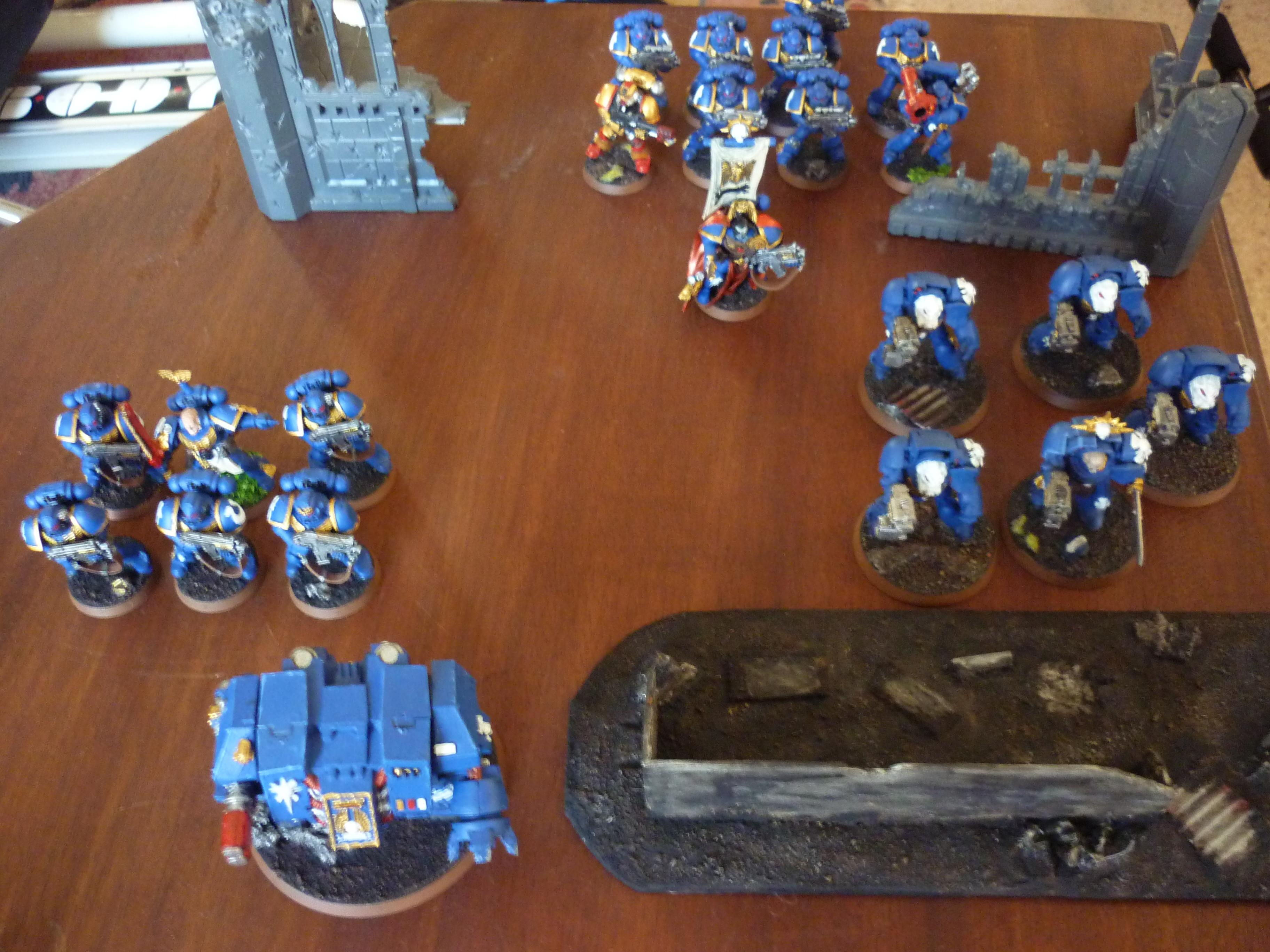 Army, First, My, Space Marines, Terrain