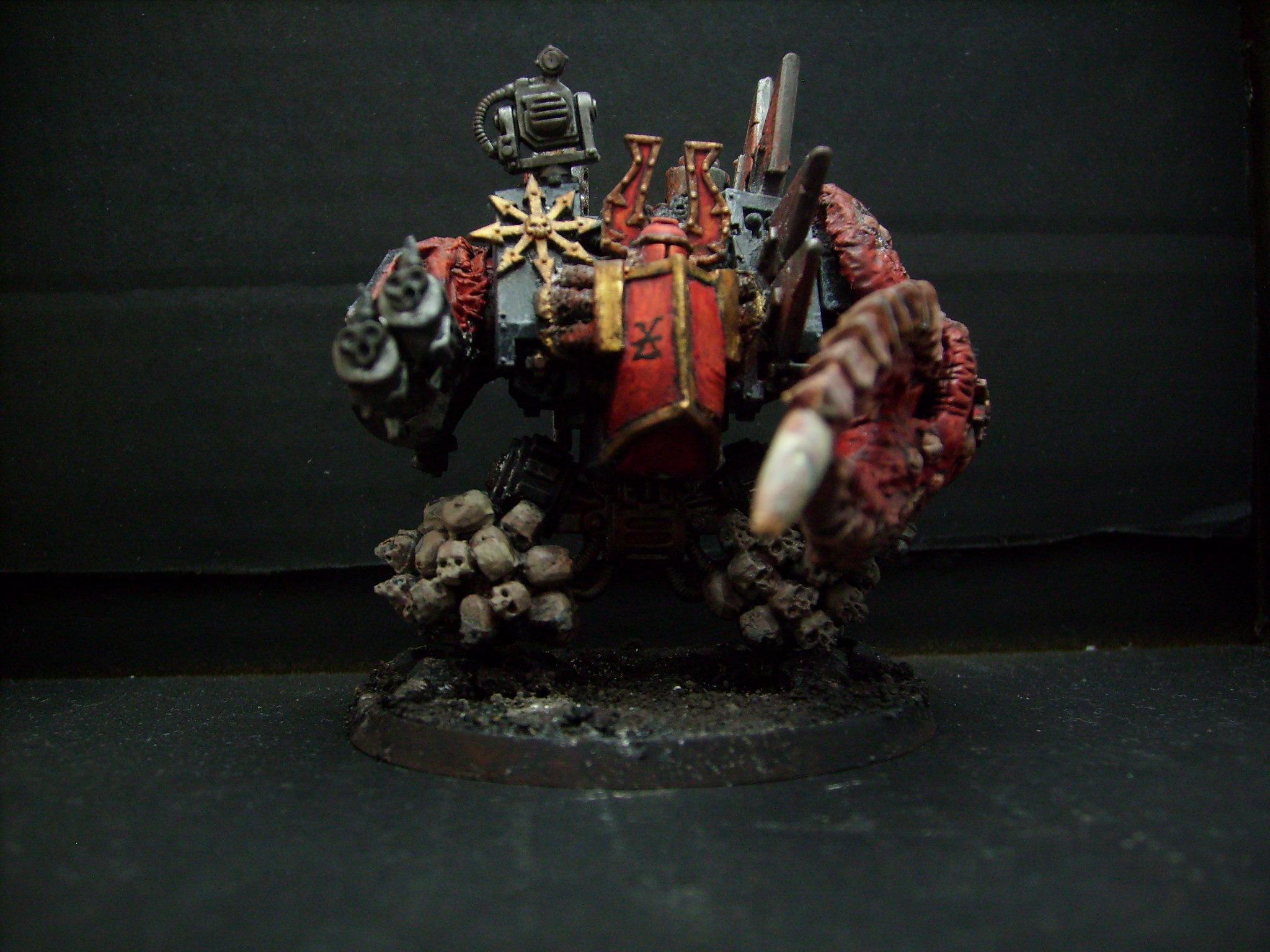 Chaos, Dreadnought, Skull
