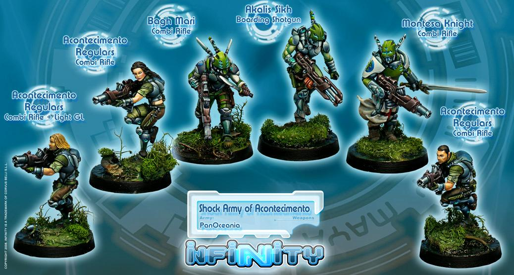 Infinity, Panoceania, Shock Army Of Acontecimento