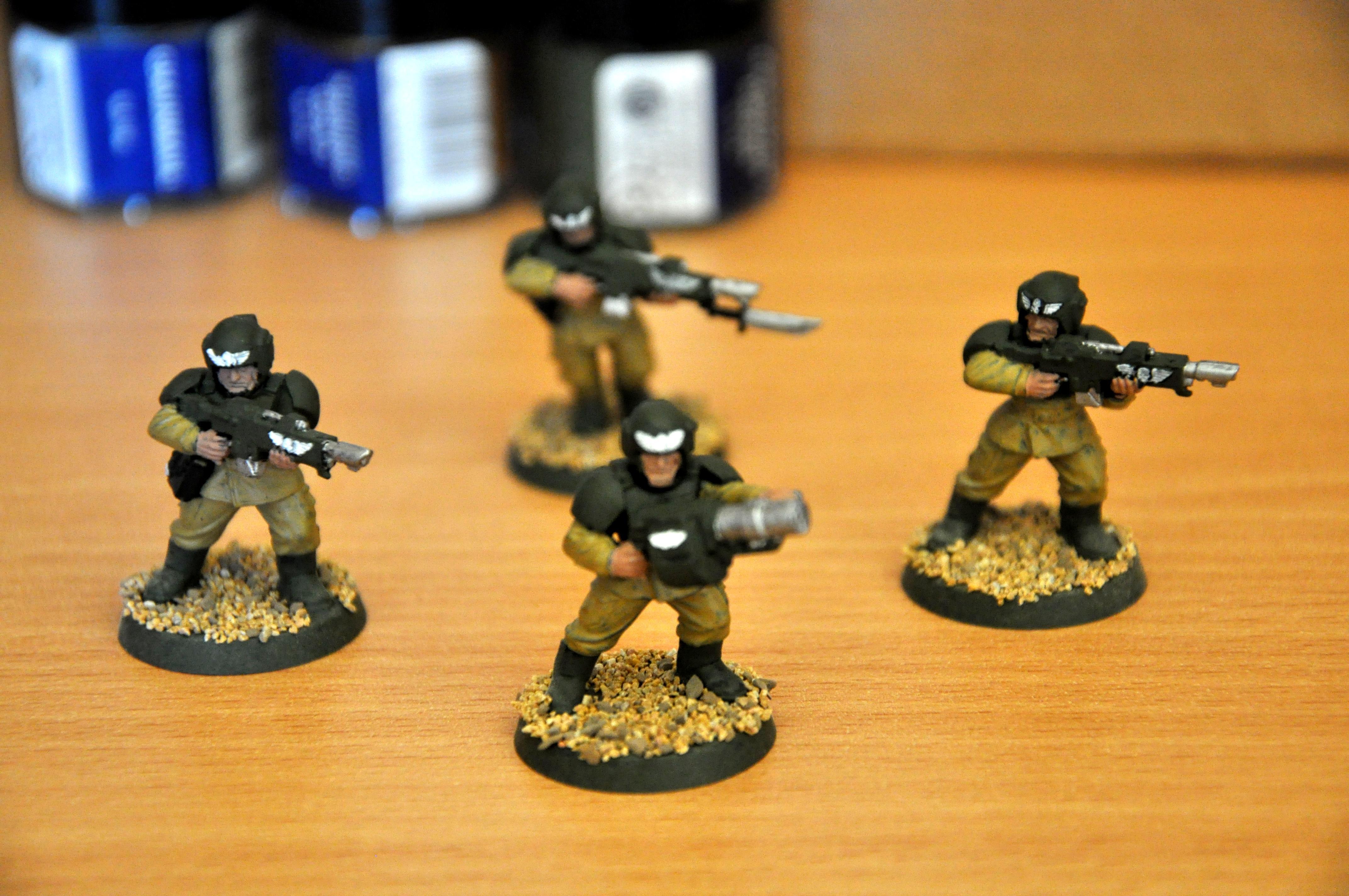 Imperial Guard, Miniature, Trooper