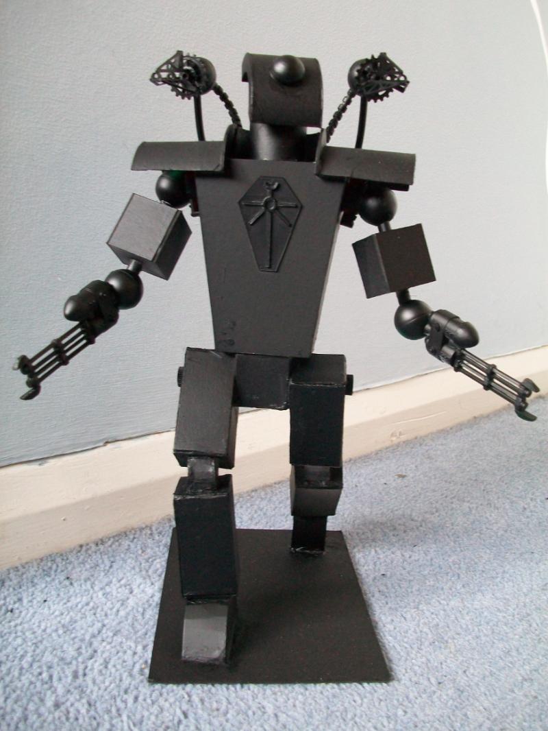 Annihilator, Custom, Necrons, Scratch Build, Titan, Warhammer 40,000, Work In Progress