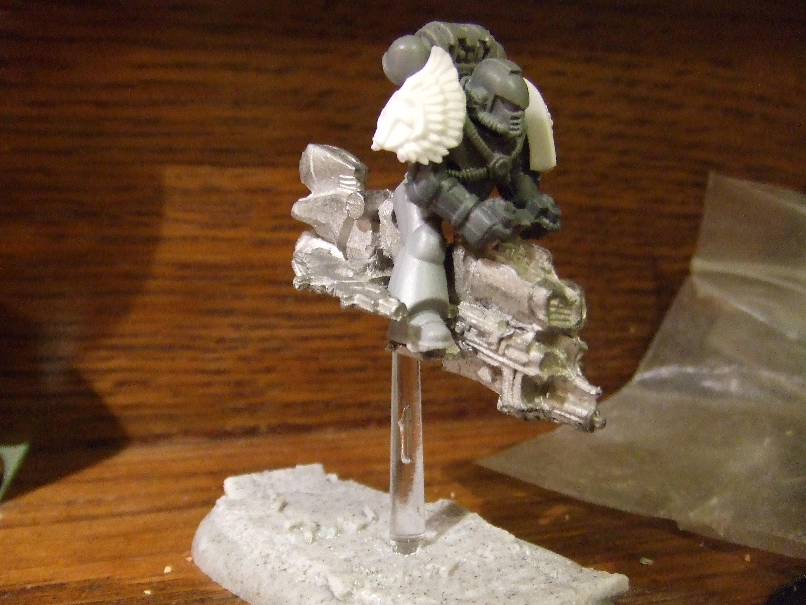 Jetbike, Pre-heresy, Space Marines, Work In Progress