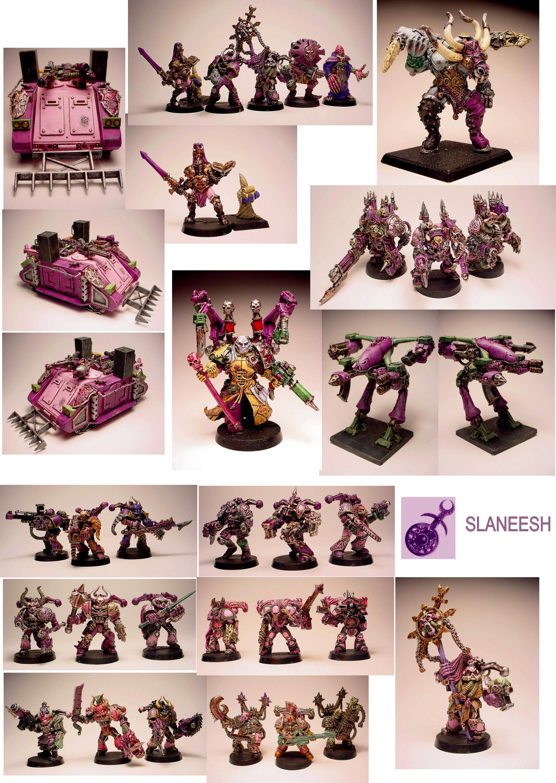 Army, Chaos, Emperor's Children, Noise Marines, Slaanesh