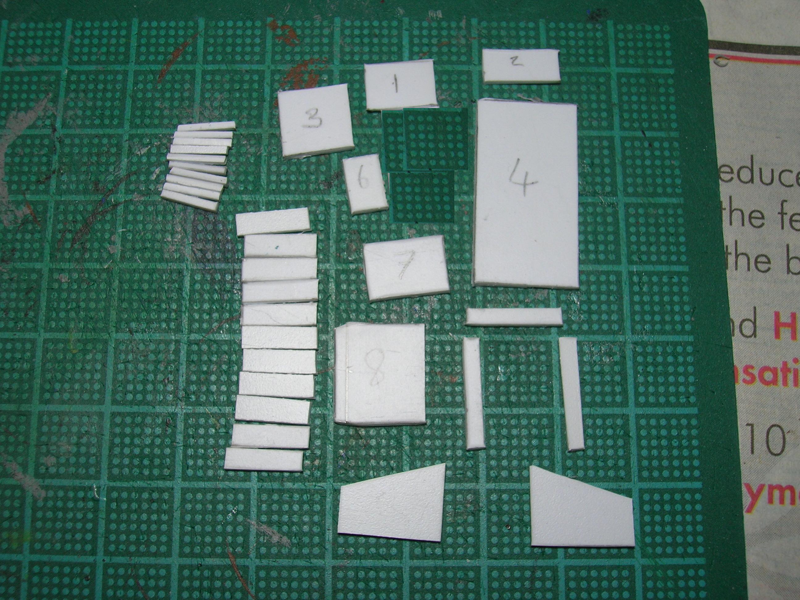 Plastic card bits needed