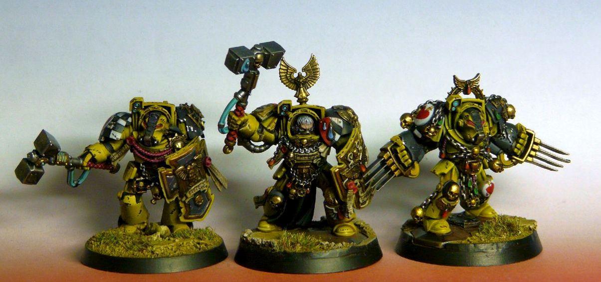 Badab War, Lamenters, Terminator Armor