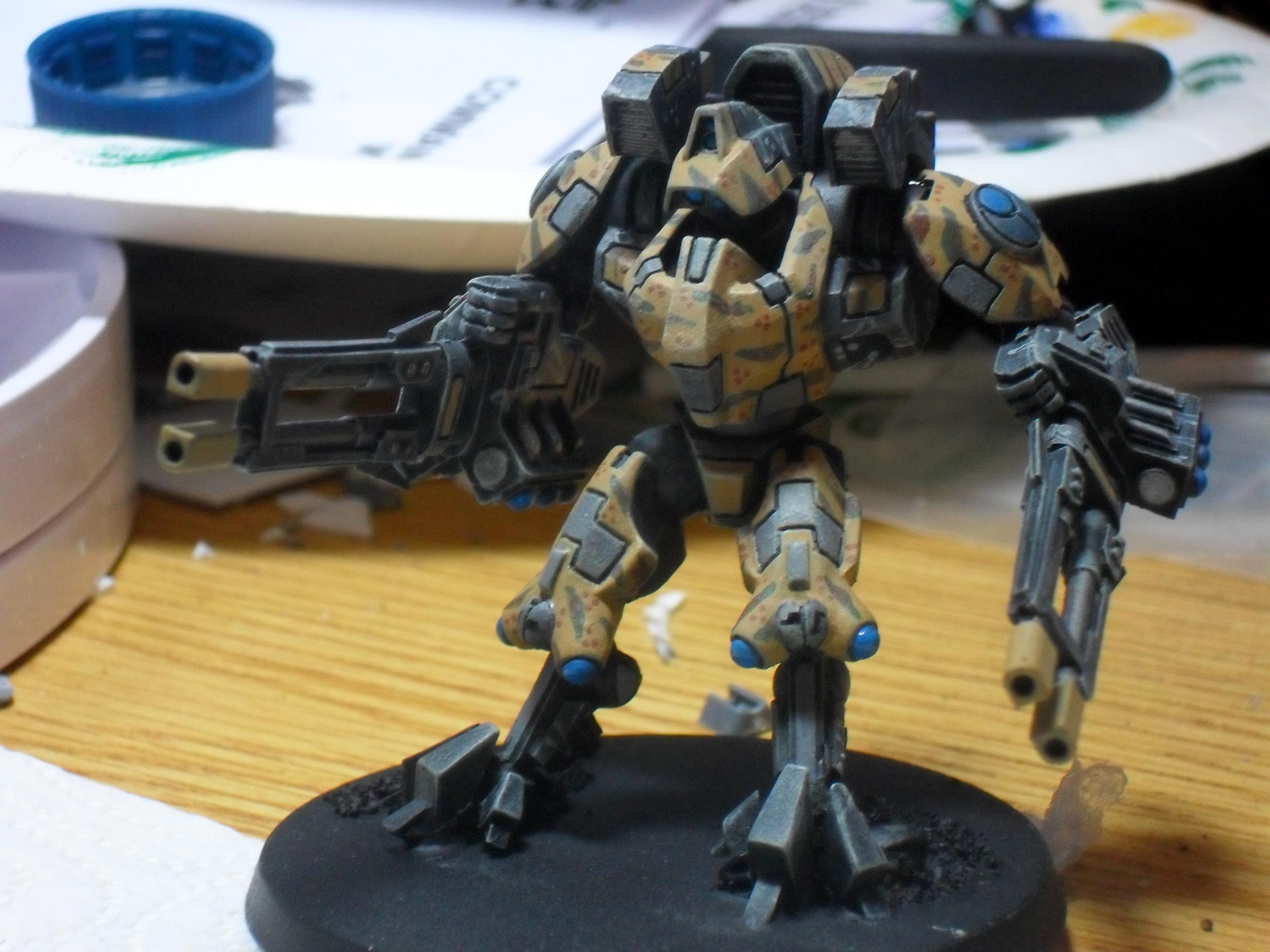 Battlesuit, Conversion, Tau, Tau Conversions, Tau Xv-9 Battlesuit Pig