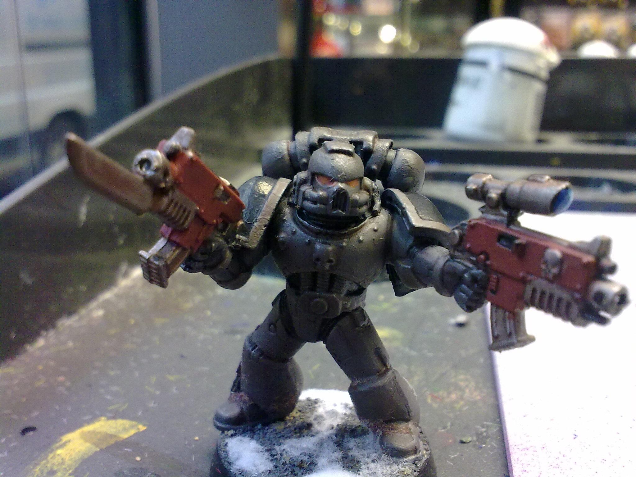 Conversion, Multi Weapon, Space Marines