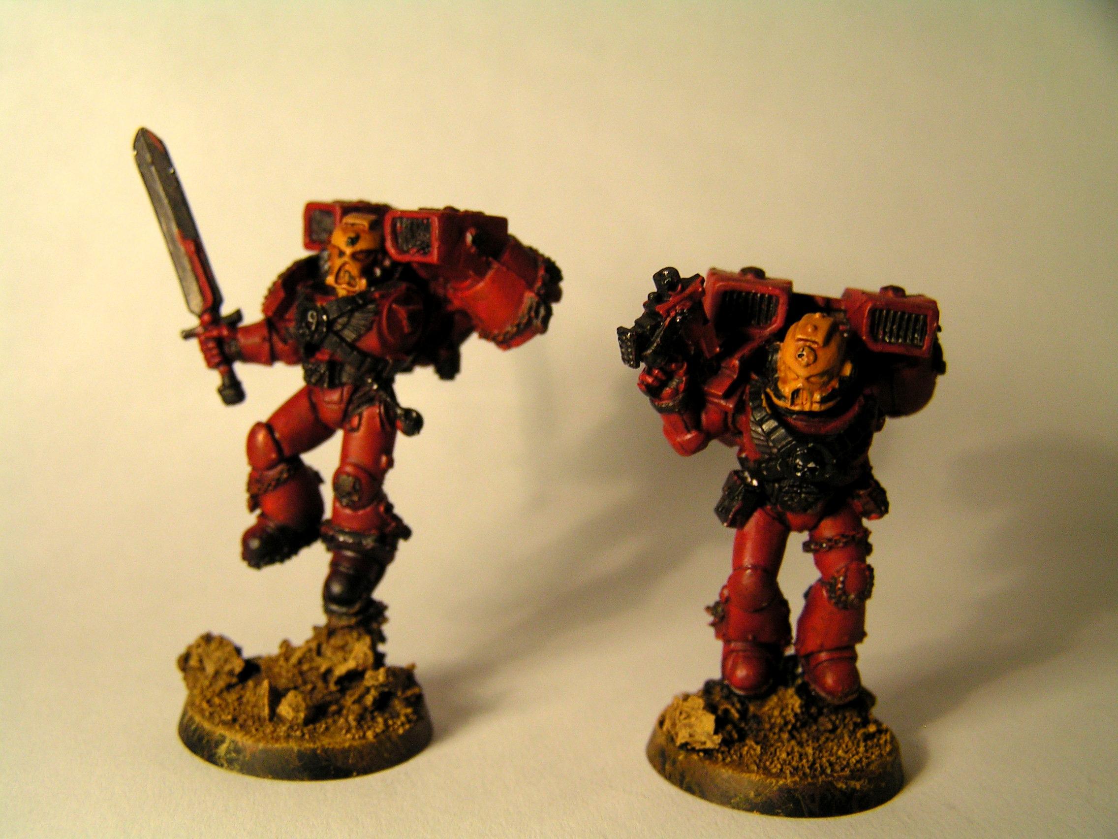 Assault Marines, Blood Angels, Warhammer 40,000