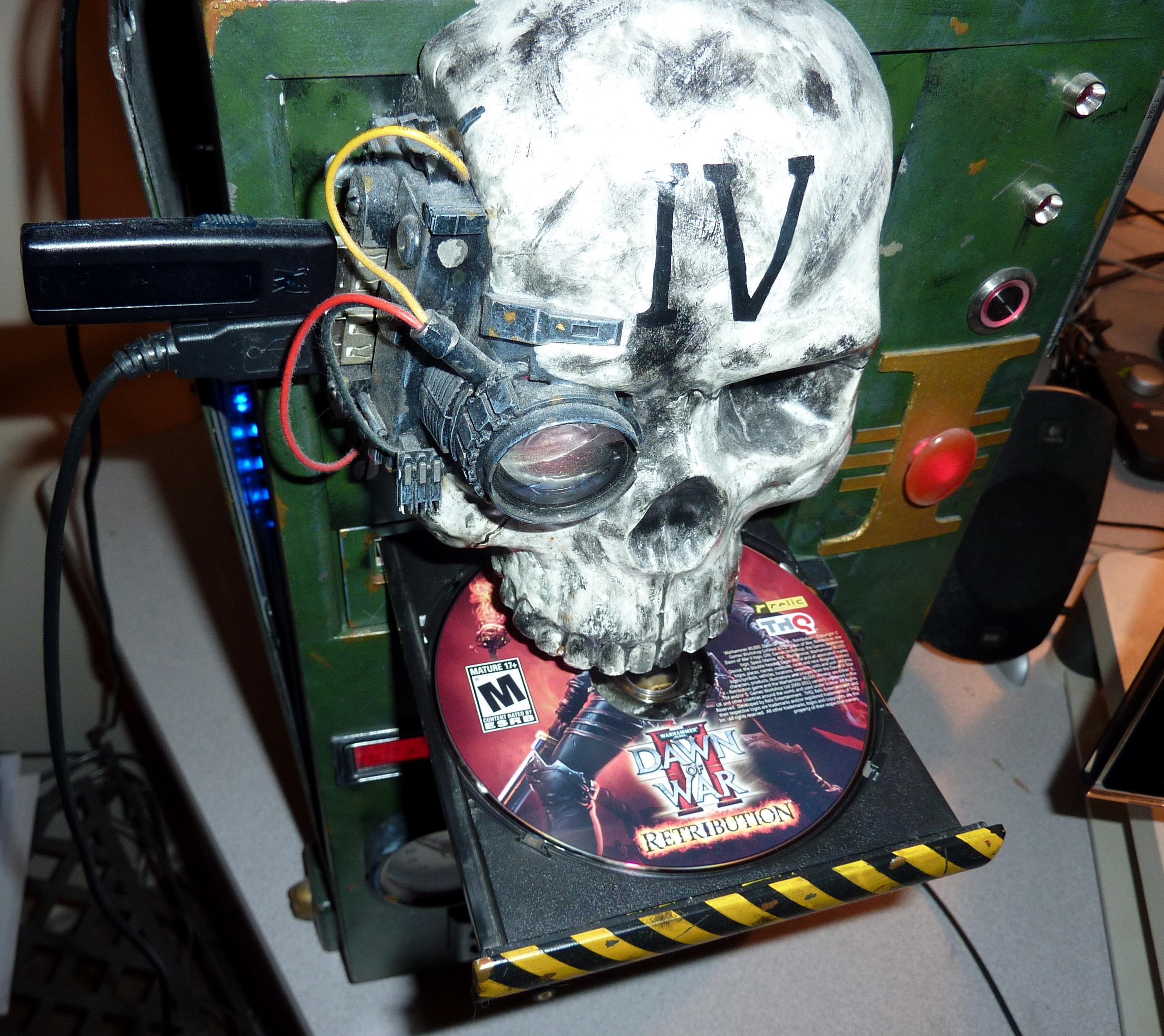 Adeptus Mechanicus, Computer, Prop, Servo Skull, Skull