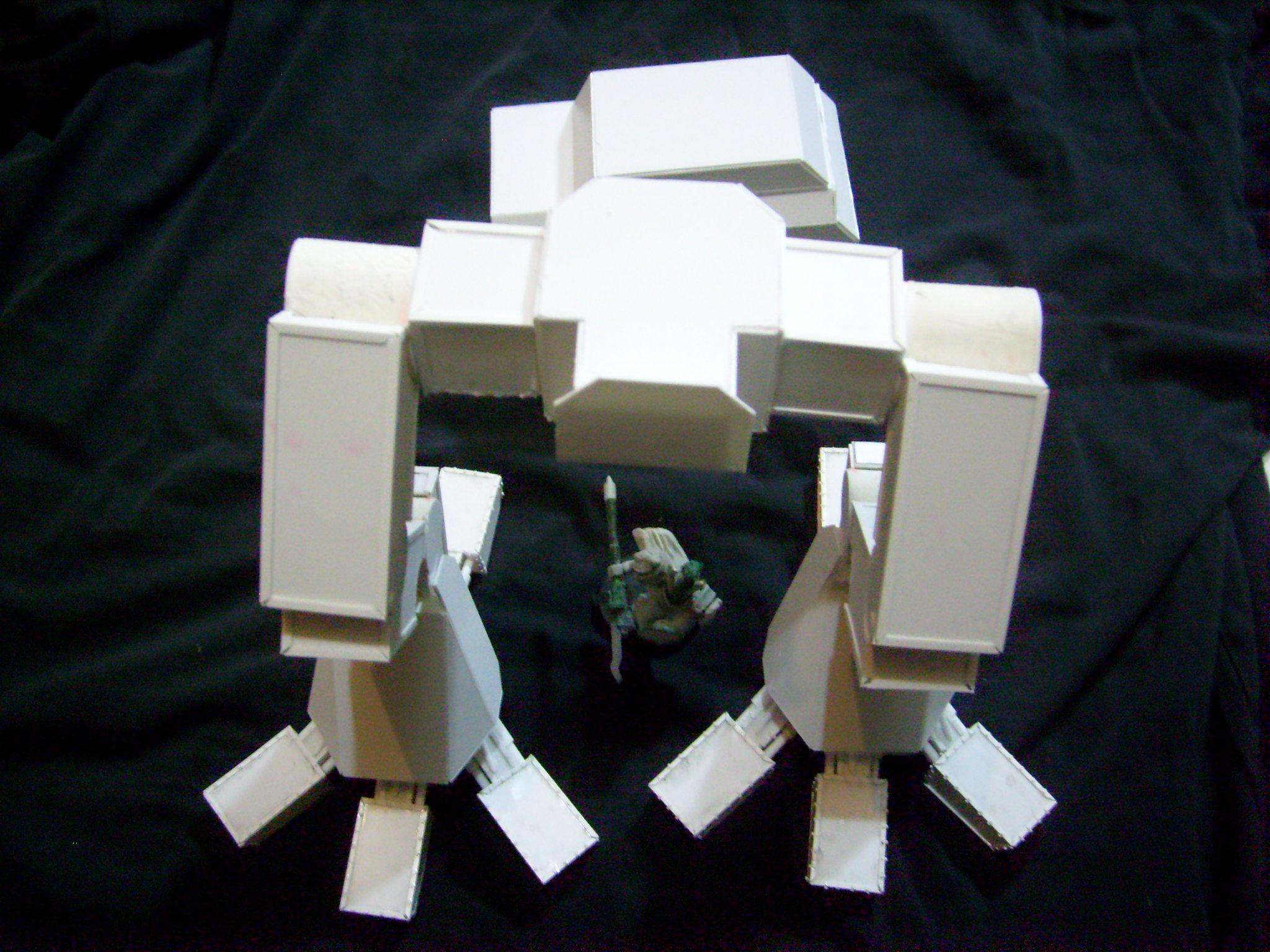 Titan, Warhound, Warhound legs