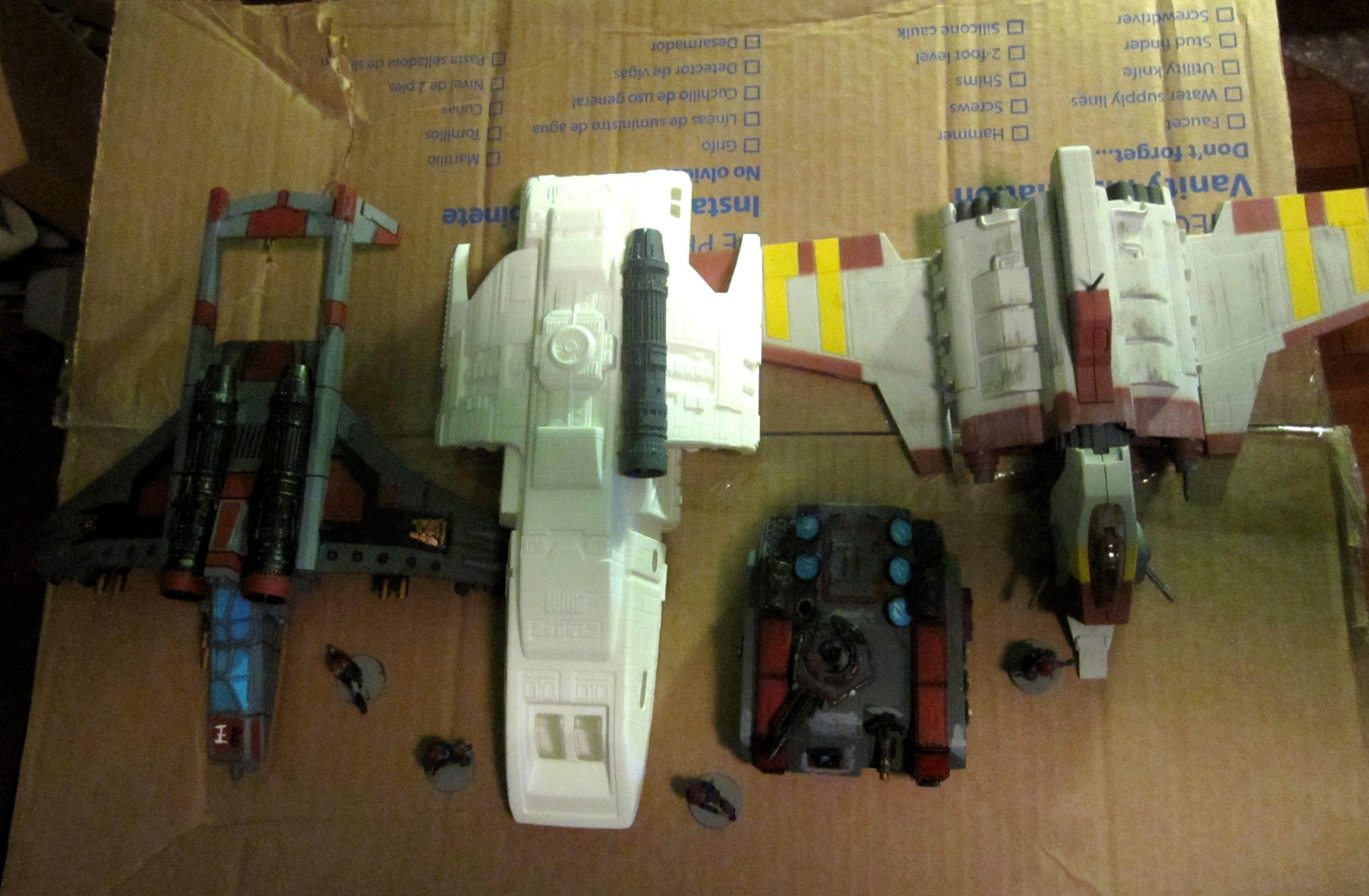 Flyer, Guncutter, Lander, Lighter, Runabout, Shuttle, Star Trek, Star Wars, Storm Raven