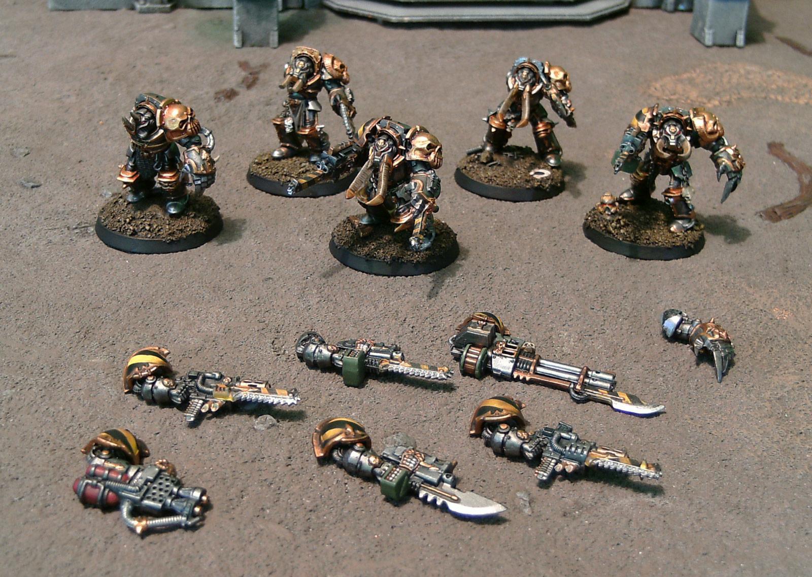 Chaos, Chaos Space Marines, Chaos Terminators, Homebrew, Iron Marauders, Ouze, Terminator Armor, Warhammer 40,000