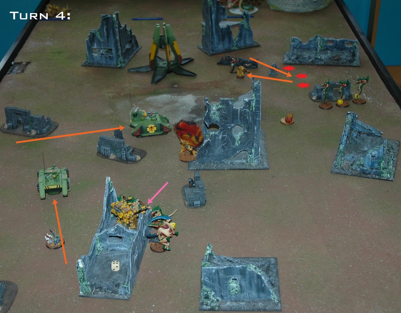 Battle Report, Space Marines, Tyranids, Warhammer 40,000