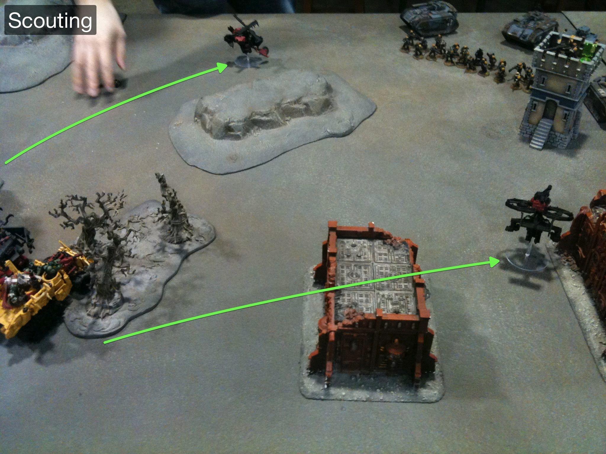 Battle Report, Da Ork Angelz, Imperial Guard, Orks
