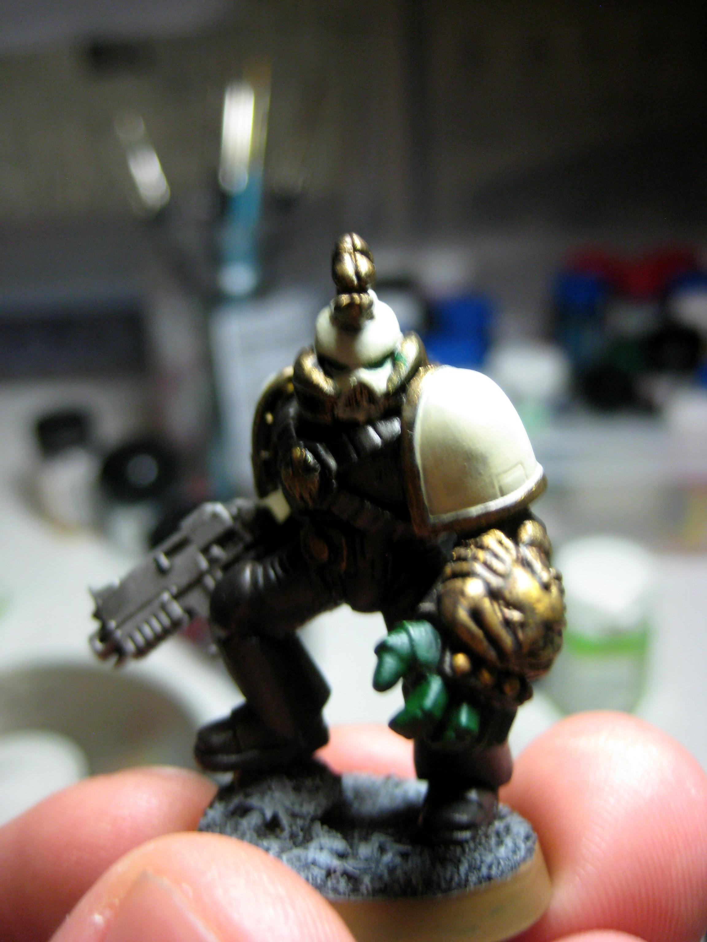 Conversion, Space Marines, Work In Progress