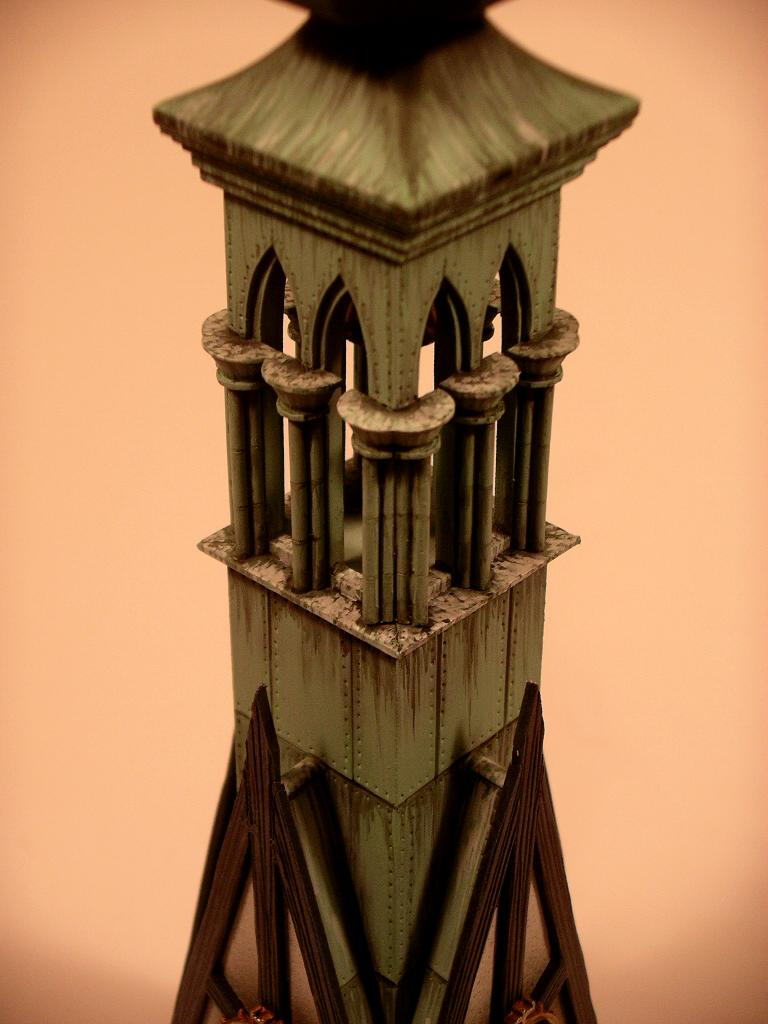 The Burgomeister's Mansion Bell tower (finished)