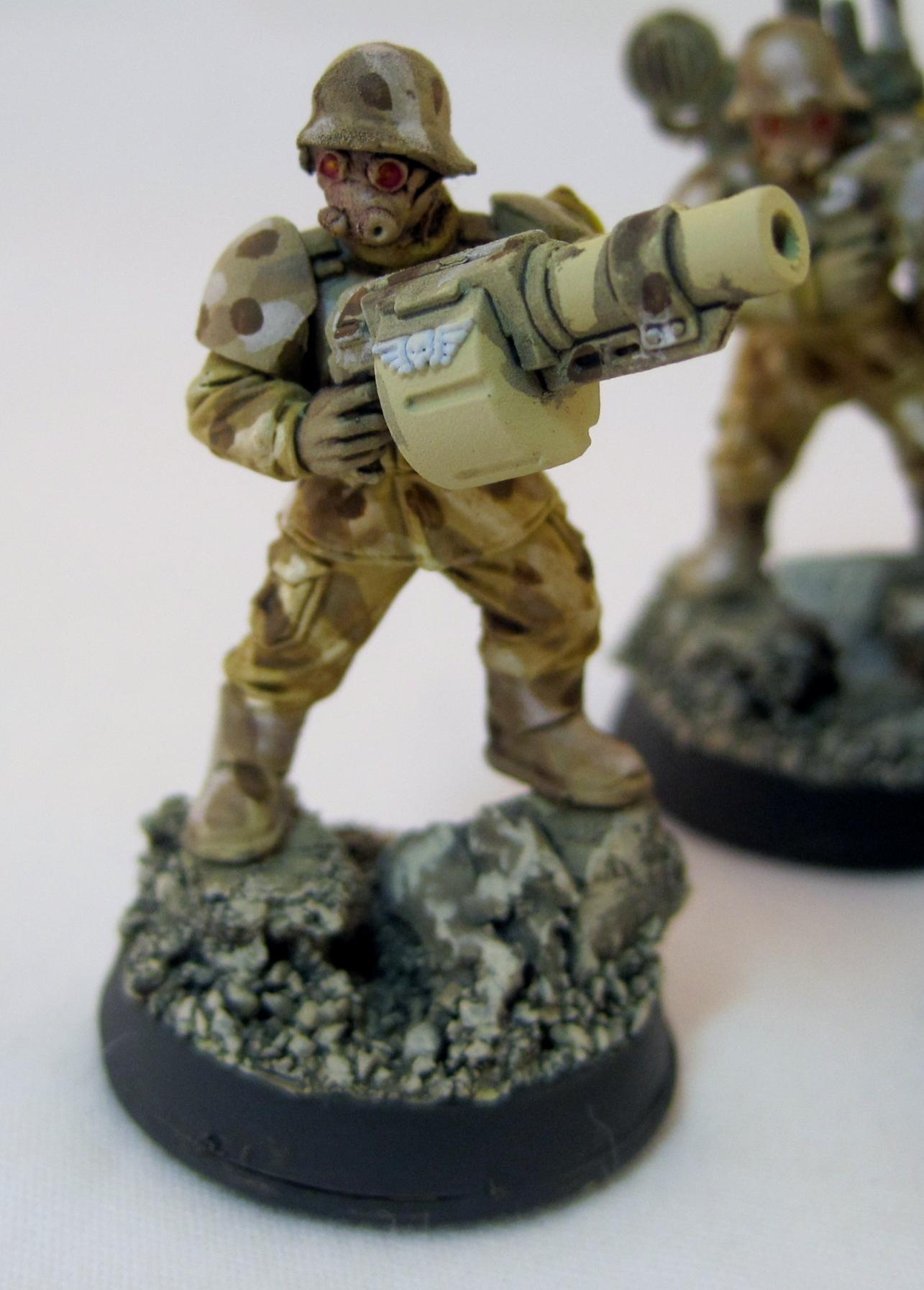 Cadians, Gas Mask, Imperial Guard, West Wind