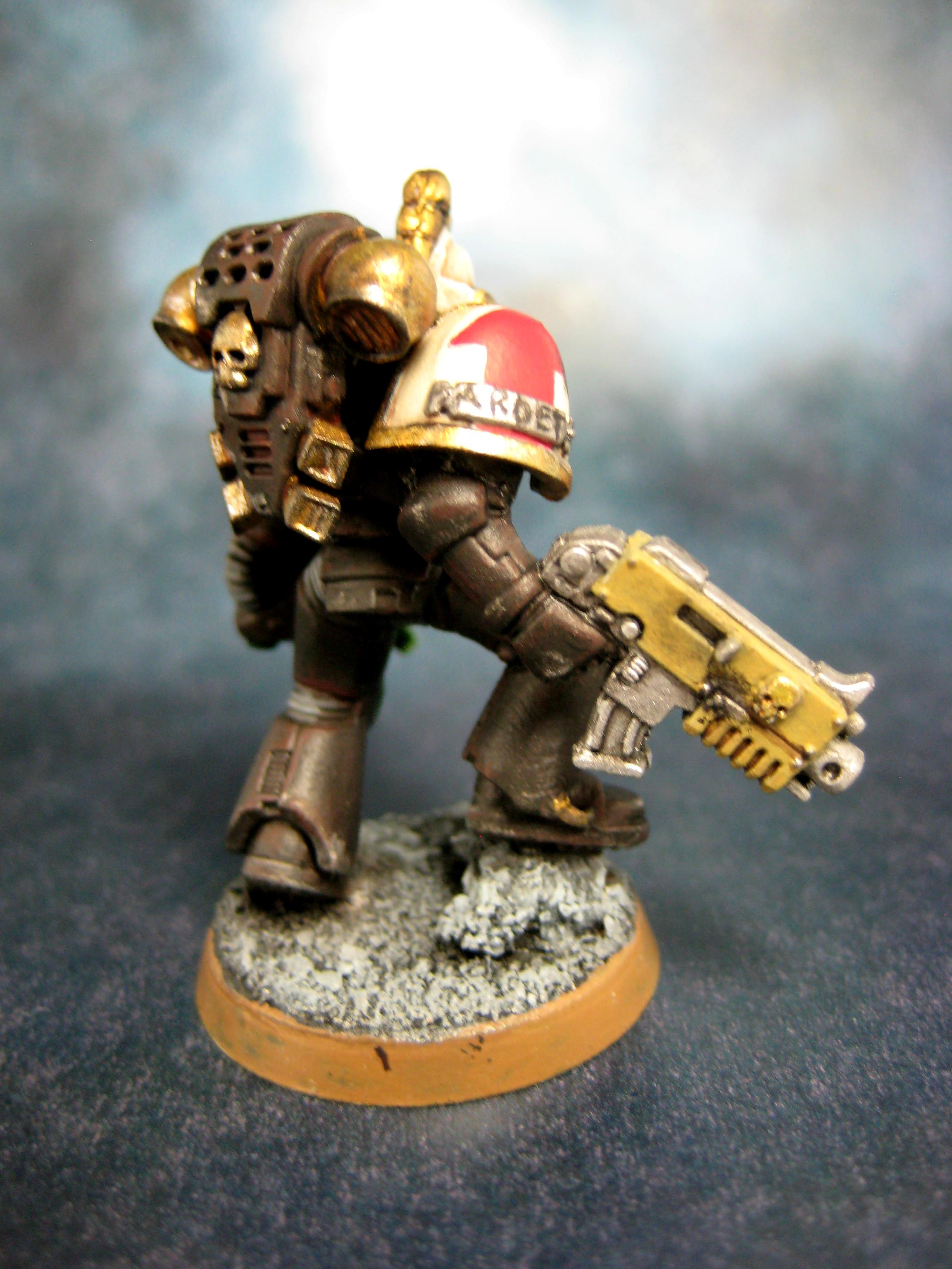 Coversion, Custom, Egyptian, Scorpion, Space Marines, Warhammer 40,000