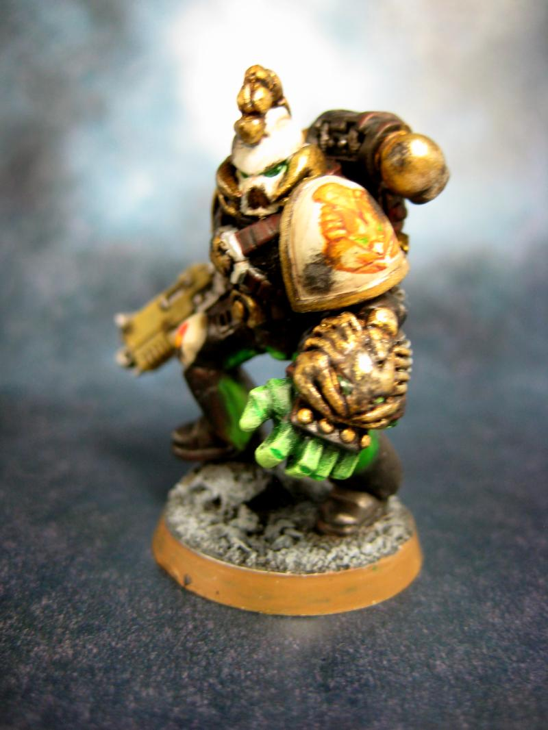 Coversion, Custom, Egyptian, Scorpion, Space Marines, Warhammer 40,000 - Sons of the Scorpion ...
