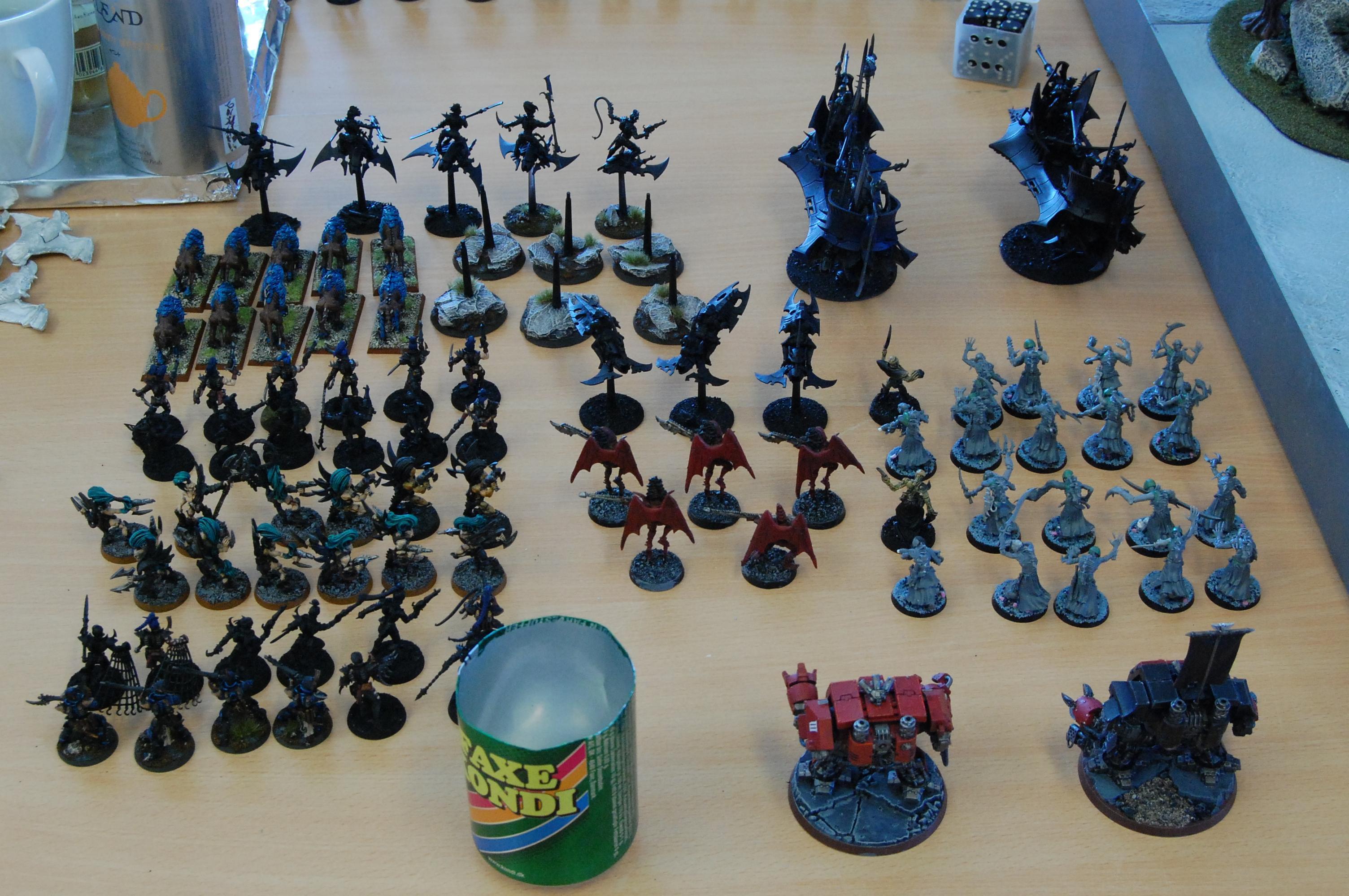 Army, Dark Eldar, Painted