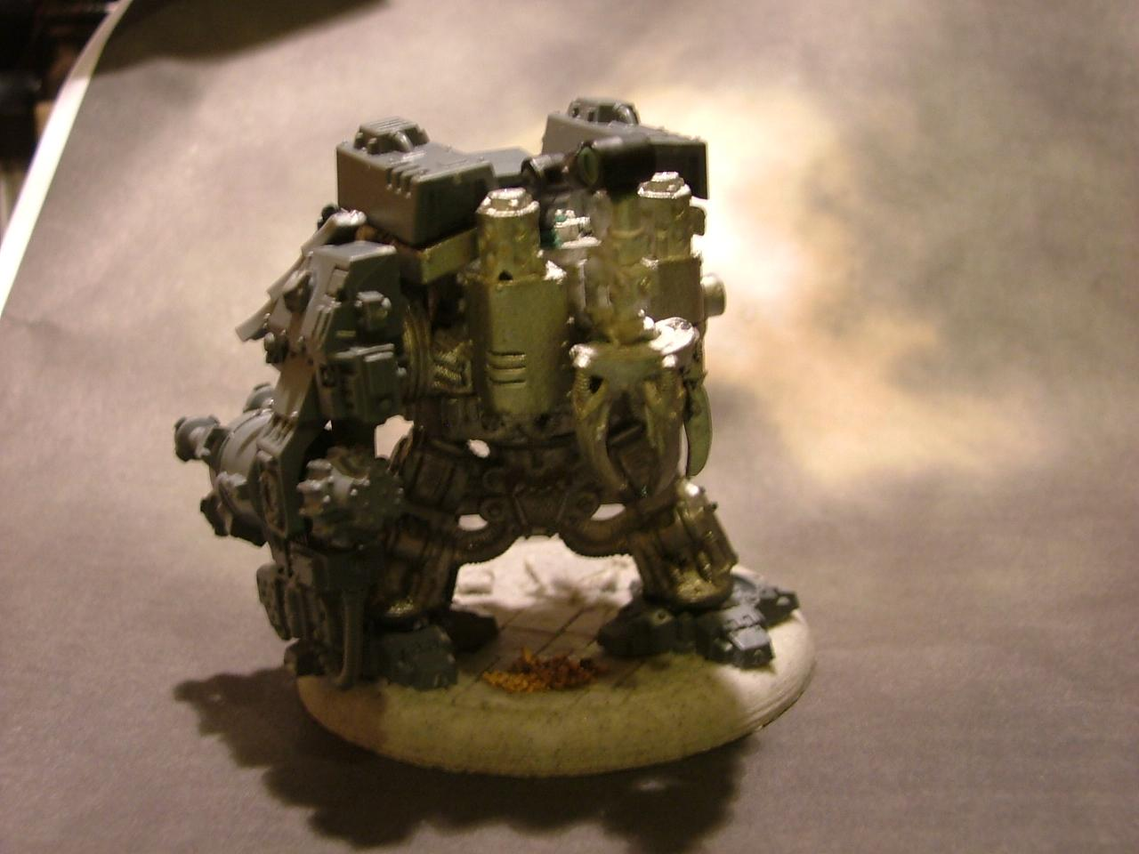 Dreadnought, Mentor Legion, Space Marines, Techmarine, Work In Progress