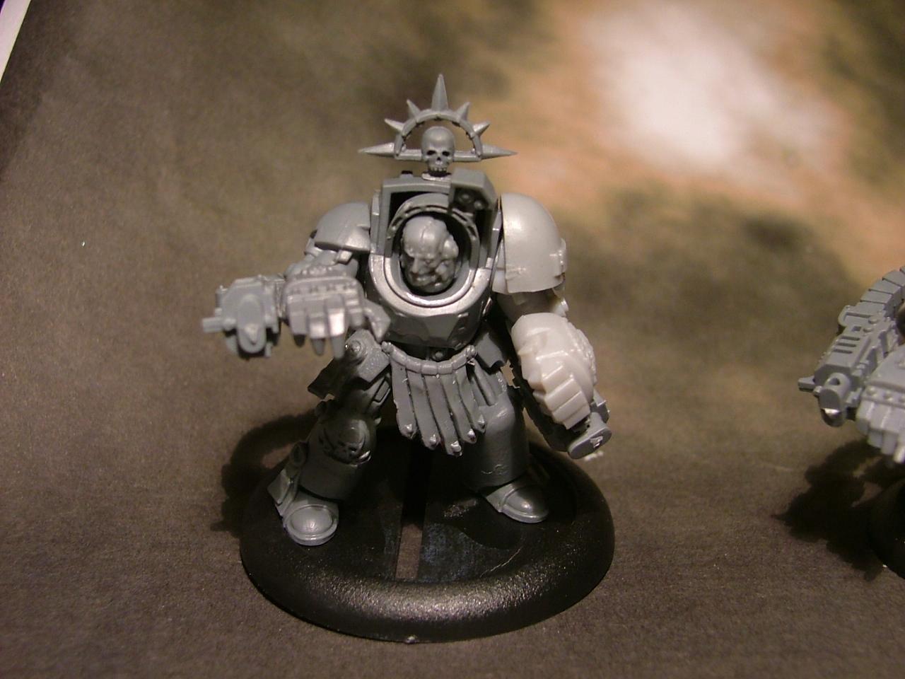 Chapter Master, Marneus Calgar, Mentor Legion, Space Marines, Terminator Armor, Work In Progress