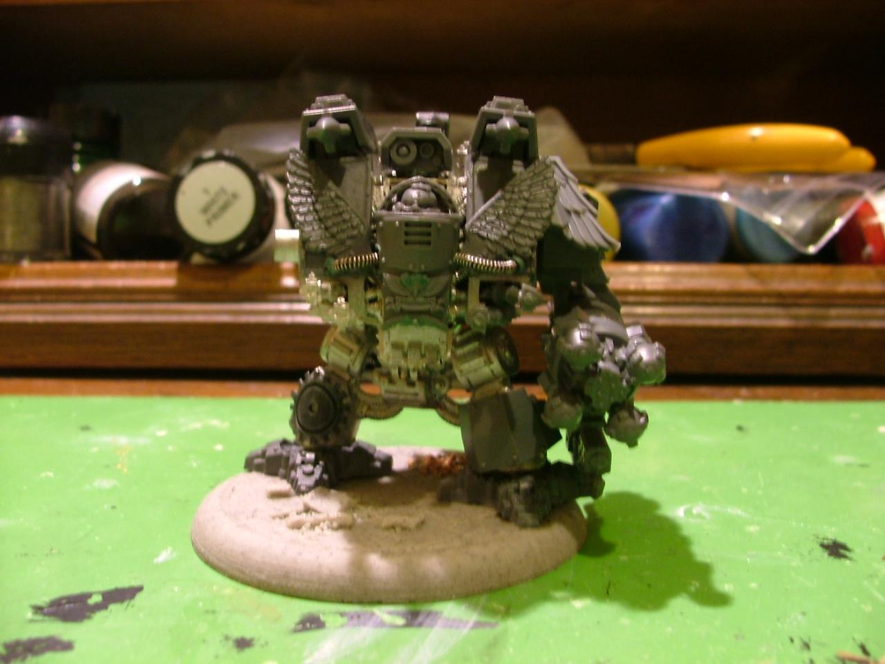 Dreadnought, Ironclad, Space Marines, Techmarine