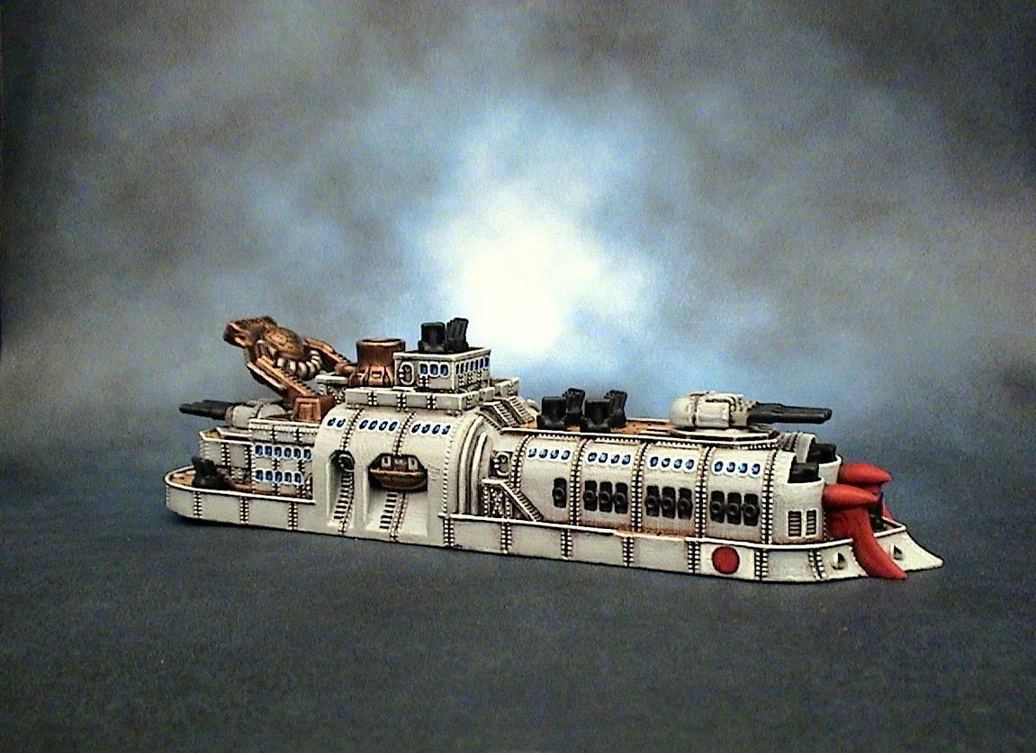 Dystopian Wars, Empire Of The Blazing Sun, Eotbs, Eotbs Battleship, Spartan Games