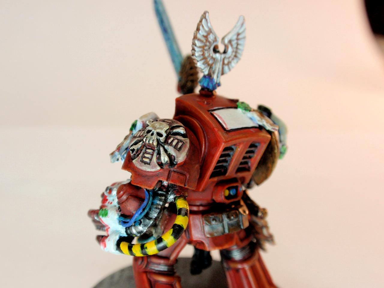 Blood Angels, Conversion, Sanguinary Priest, Terminator Armor