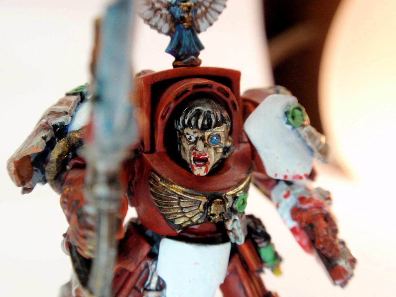 Blood Angels, Conversion, Sanguinary Priest, Terminator Armor