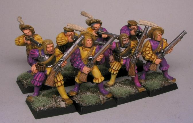 Empire, Handgunner, Ostmark, Troops, Warhammer Fantasy