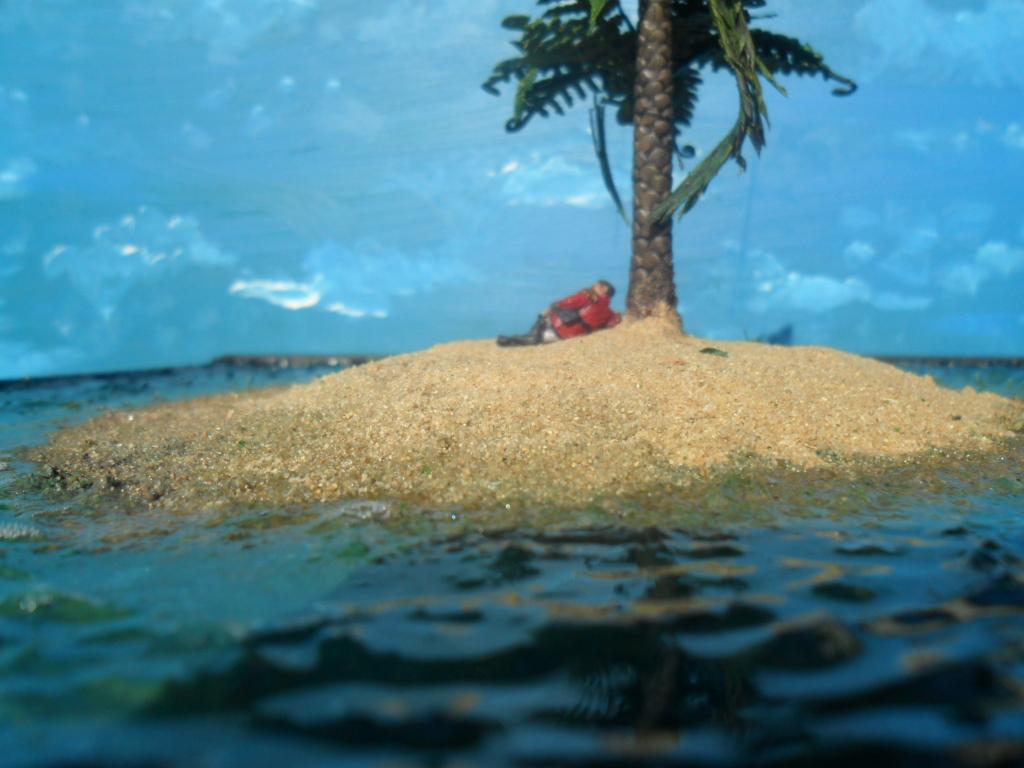 Beach, Diorama, Imperial Guard, Island, Pretorian, Sand, Scratch Build, Water, Water Effects