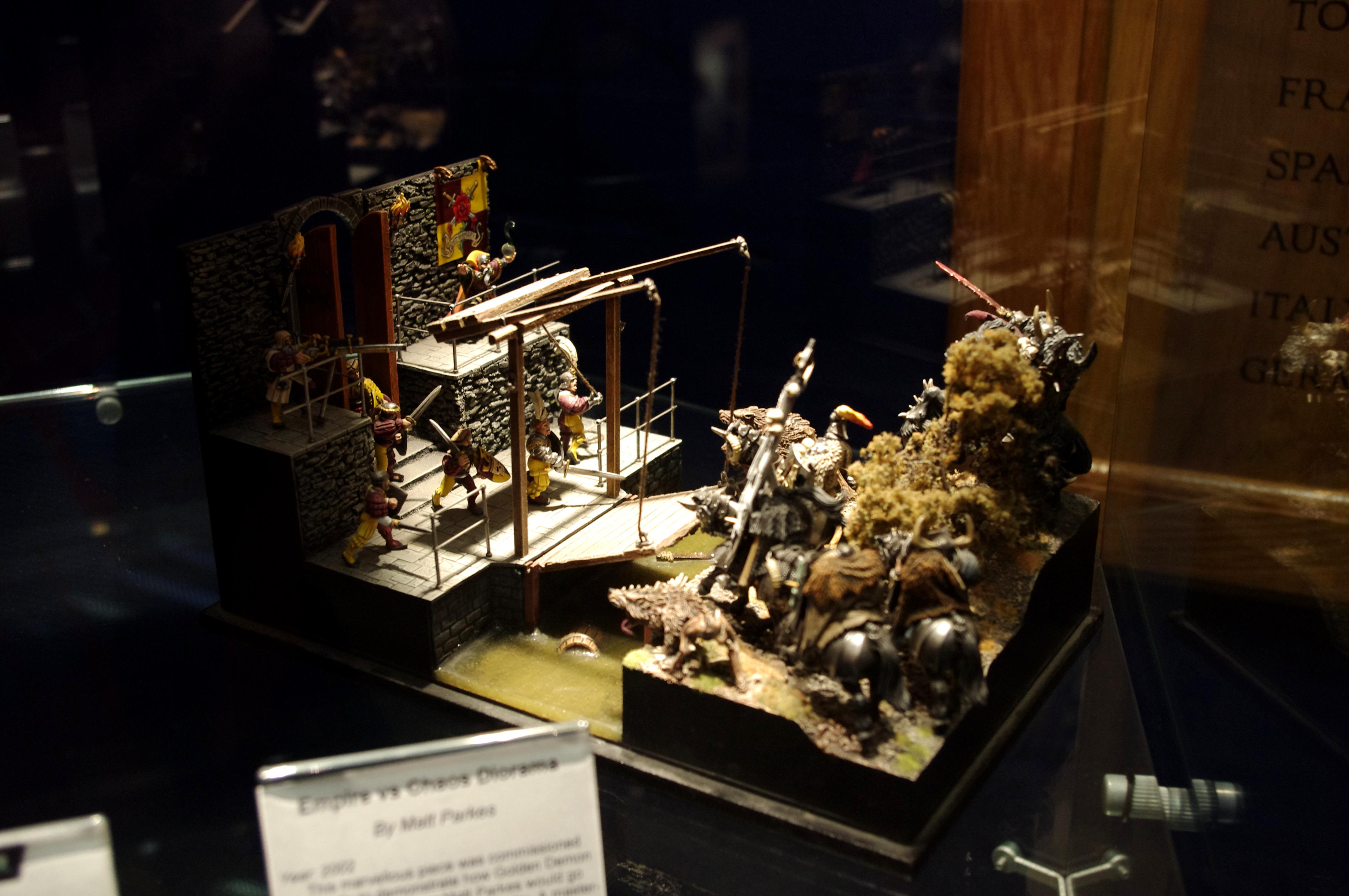 All Credit To Eavy Metal Crews, Warhammer World   ---   Posted For Those To Far Away To Travel  ---  Not My Minis
