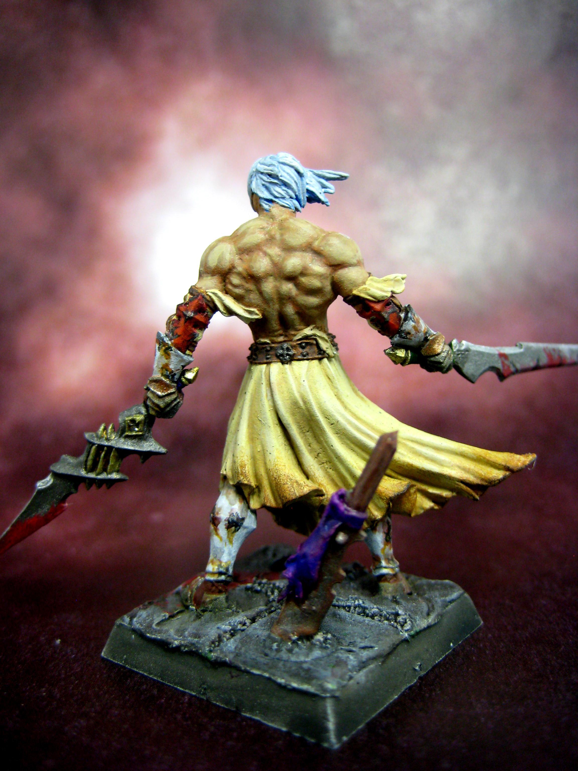 Anima Tactics, Barbarian, Warhammer Quest