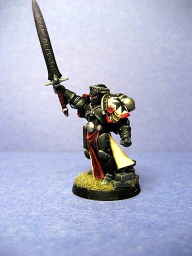 Black Templars, Emporers Champion, Redfinger, Storm Shield, Terminator Armor, Thunder Hammer