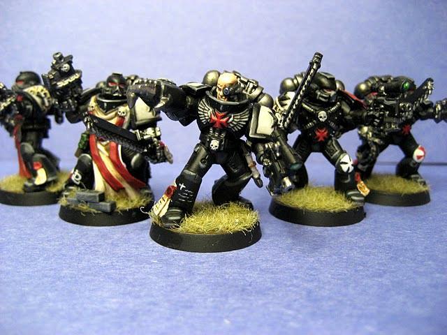 Black Templars, Crusader Squad, Power Fist, Redfinger, Storm Shield, Tactical Squad, Terminator Armor, Thunder Hammer