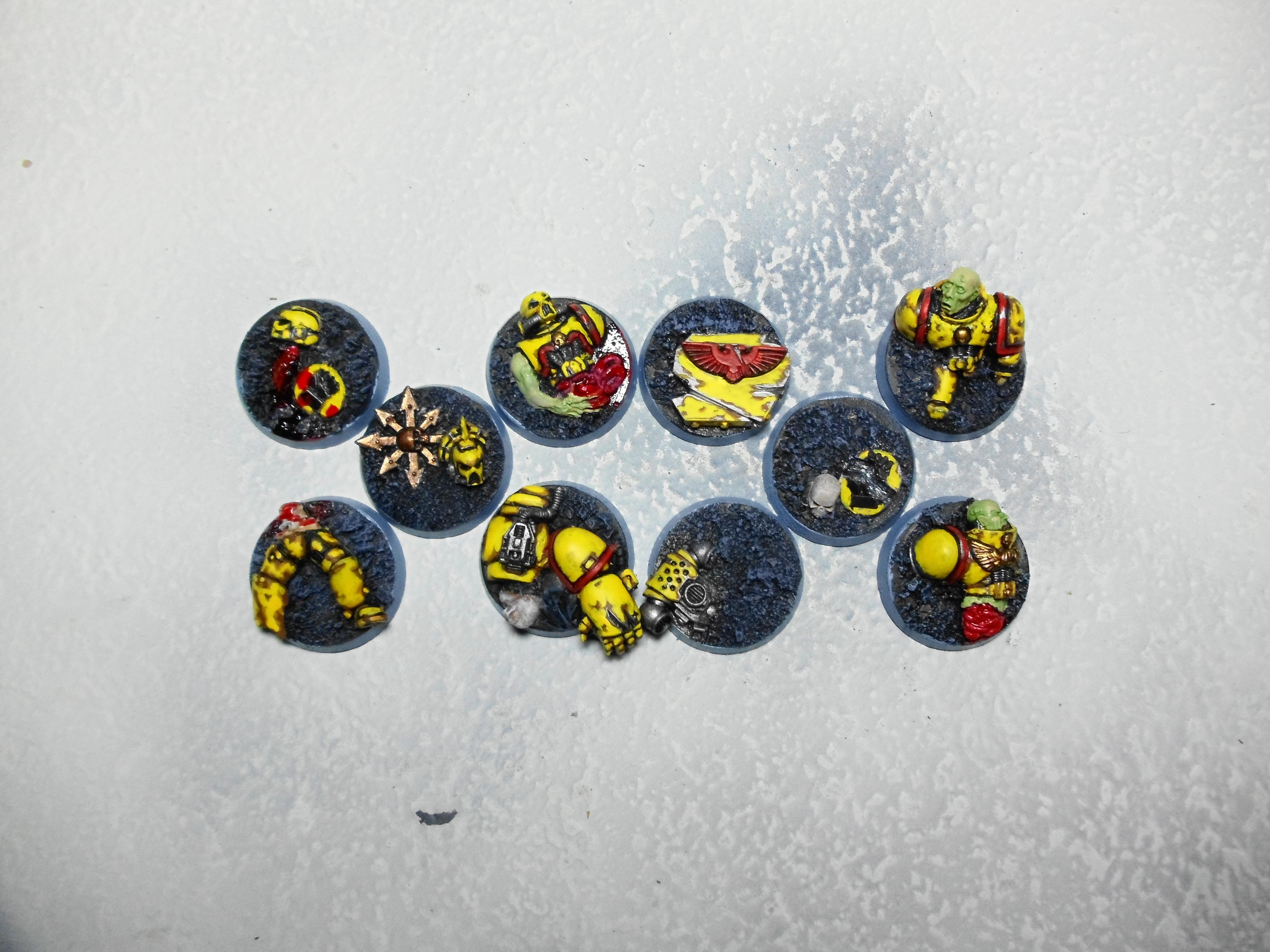 Base, Dead, Decayed, Defeated, Space Marines