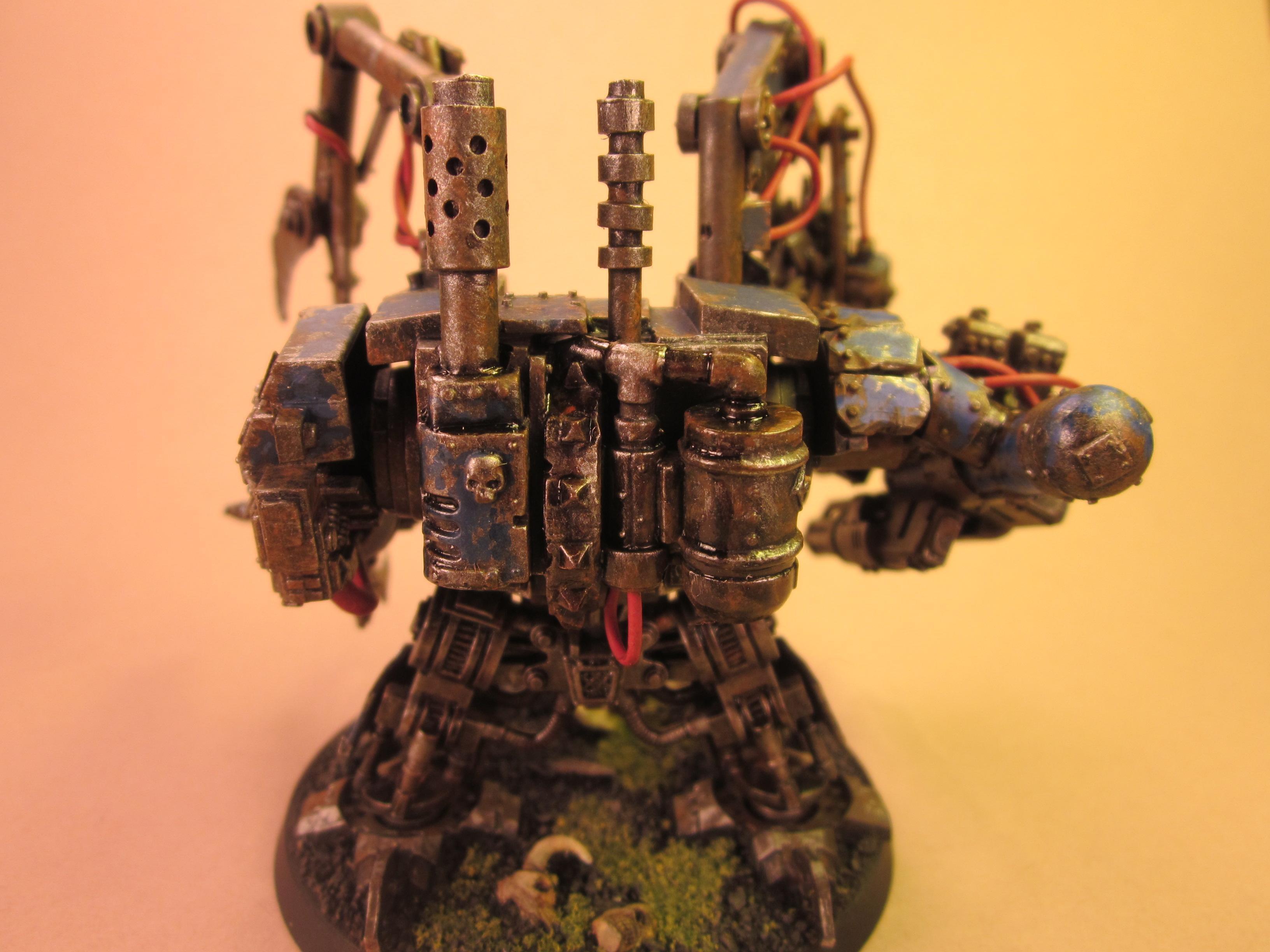 Conversion, Deff Dread, Dreadnought, Orks