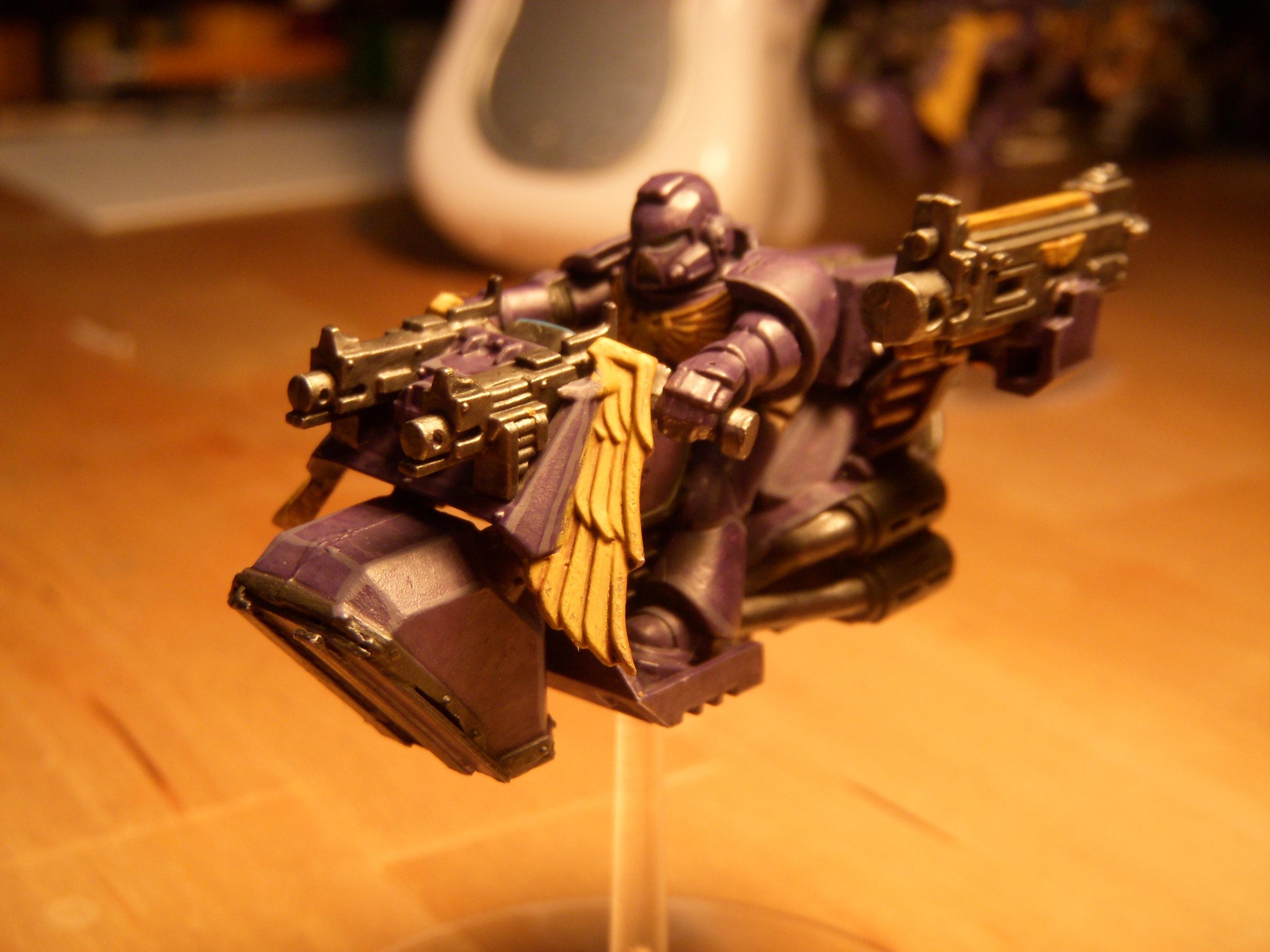 Ec, Emperor's Children, Jetbike, Pre Heresy, Space Marine Biker