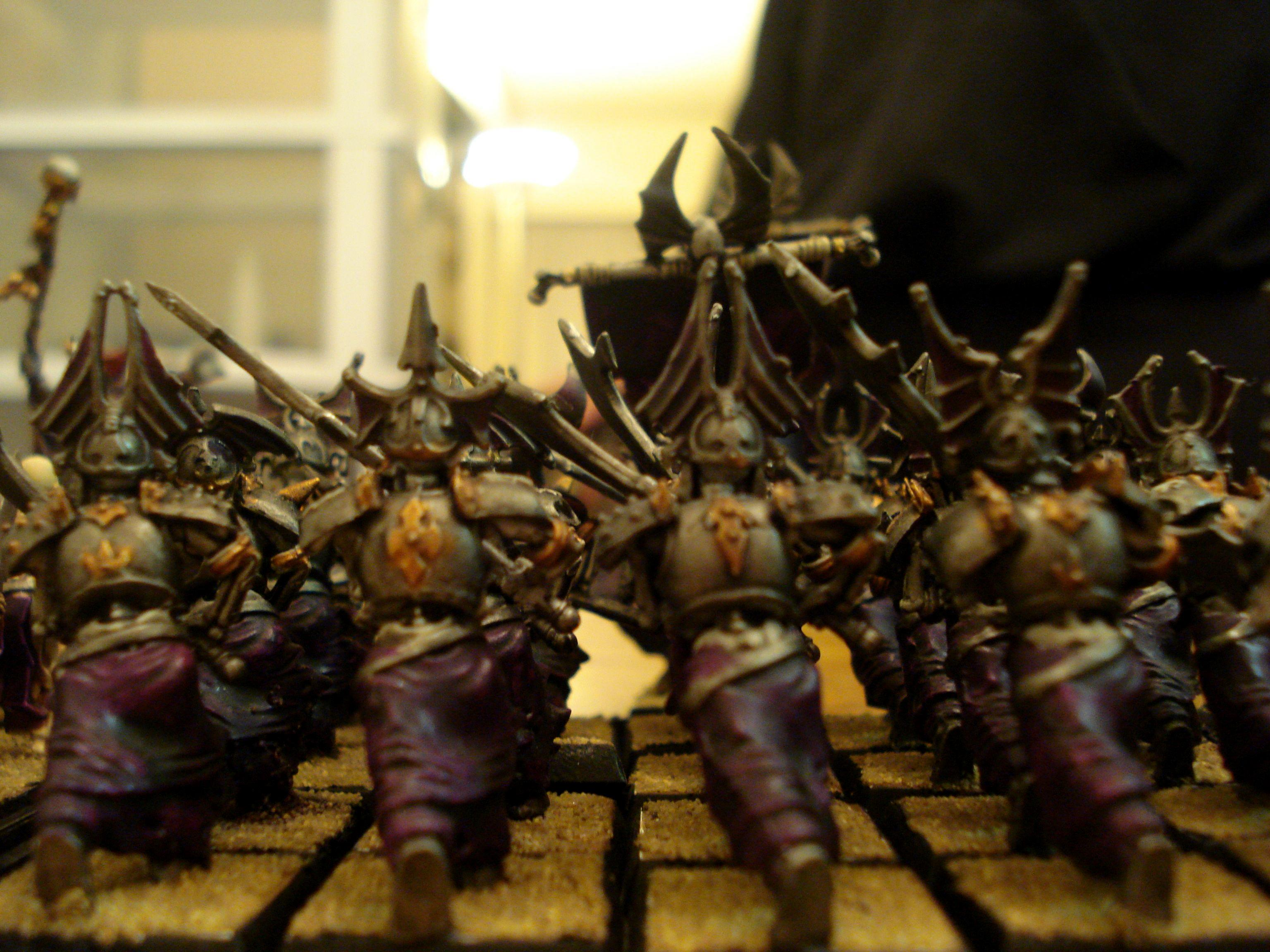 Grave Guard, Necrarchs, Vampire Counts, Warhammer Fantasy