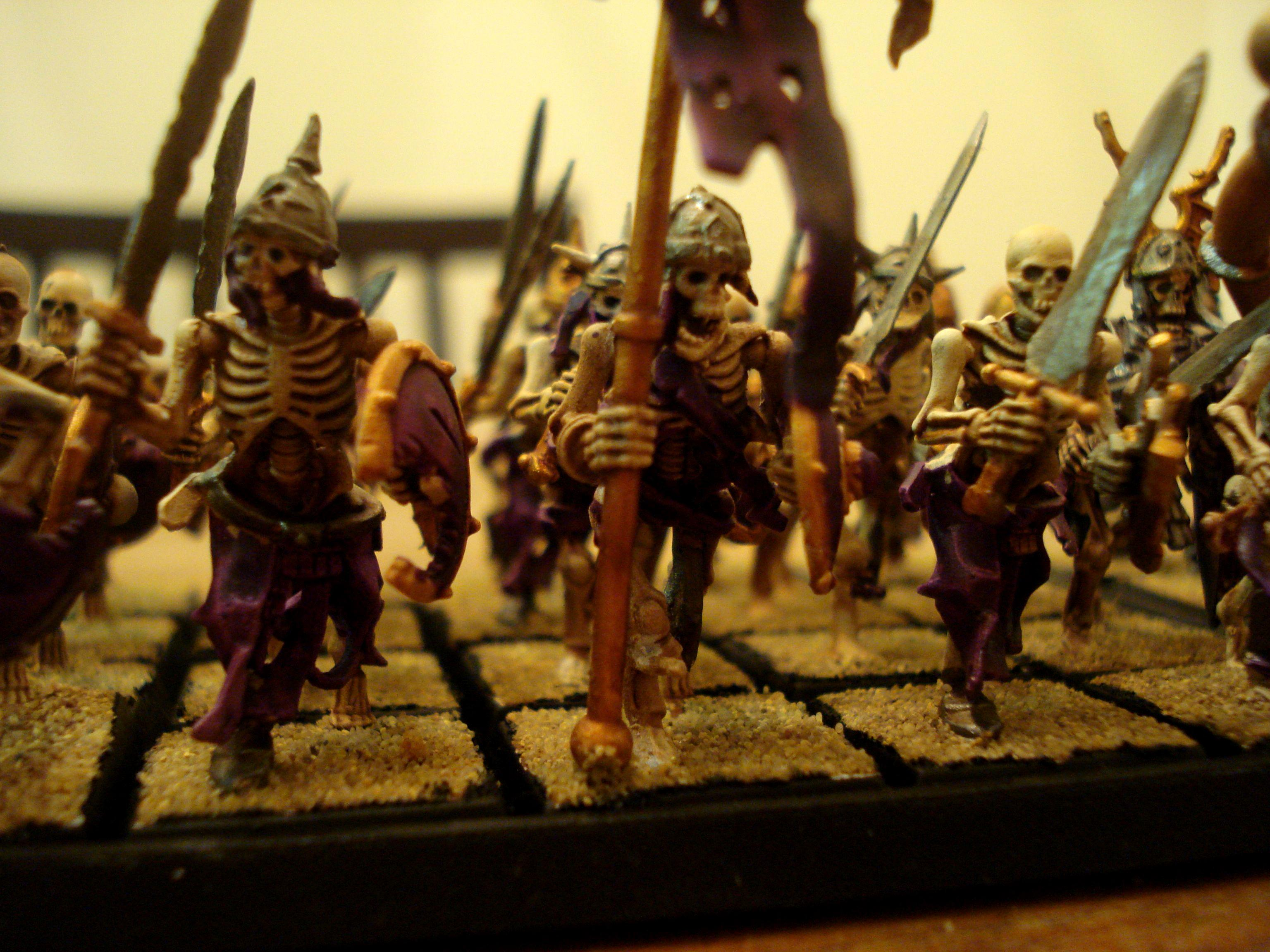 Necrarchs, Skeletons, Vampire Counts, Warhammer Fantasy