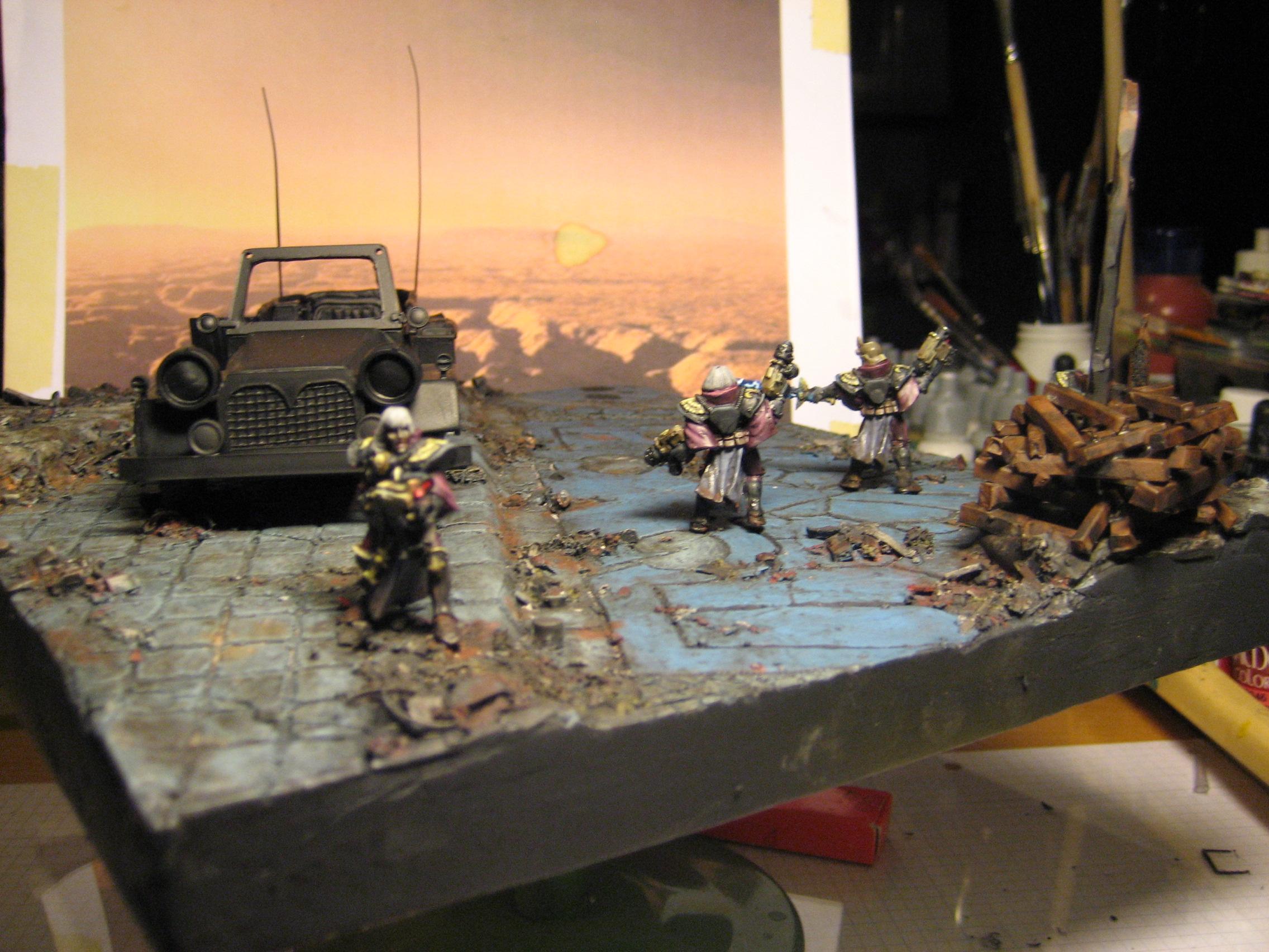 Cars, Diarama, Sisters Of Battle