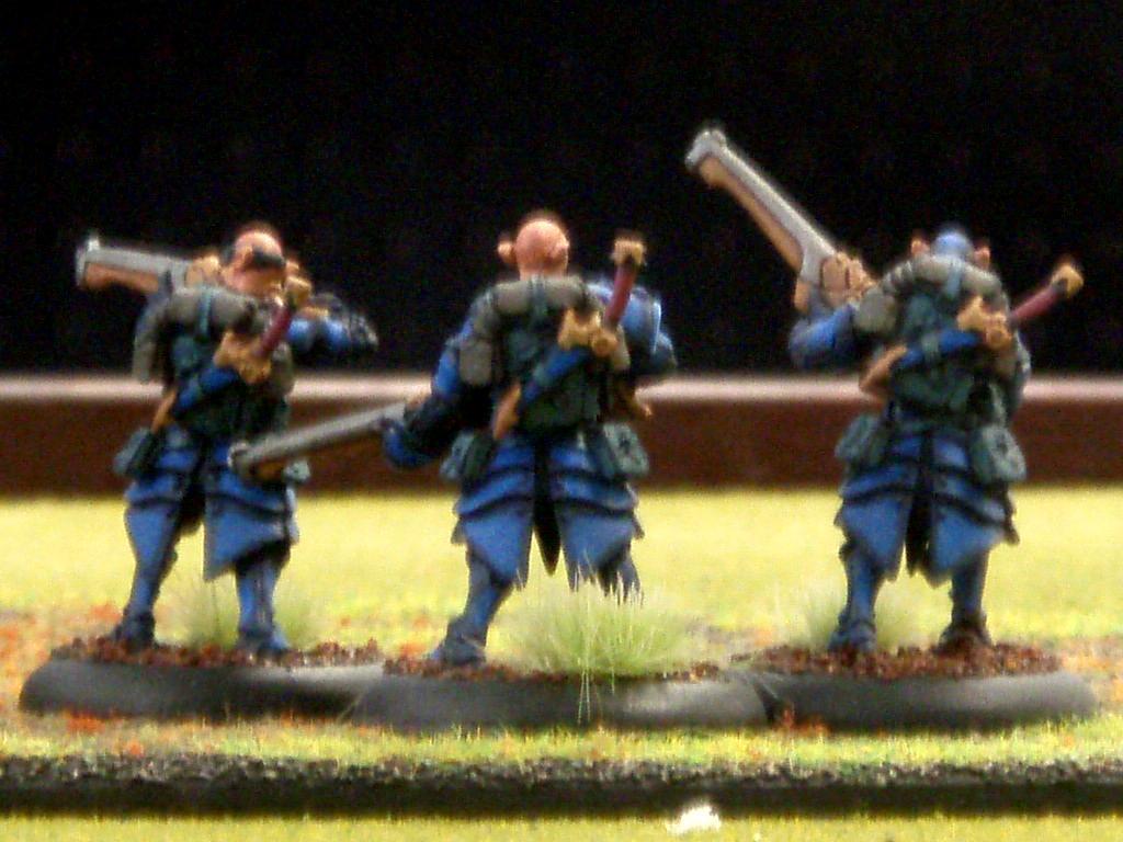 Warmachine, houseguard riflemen2
