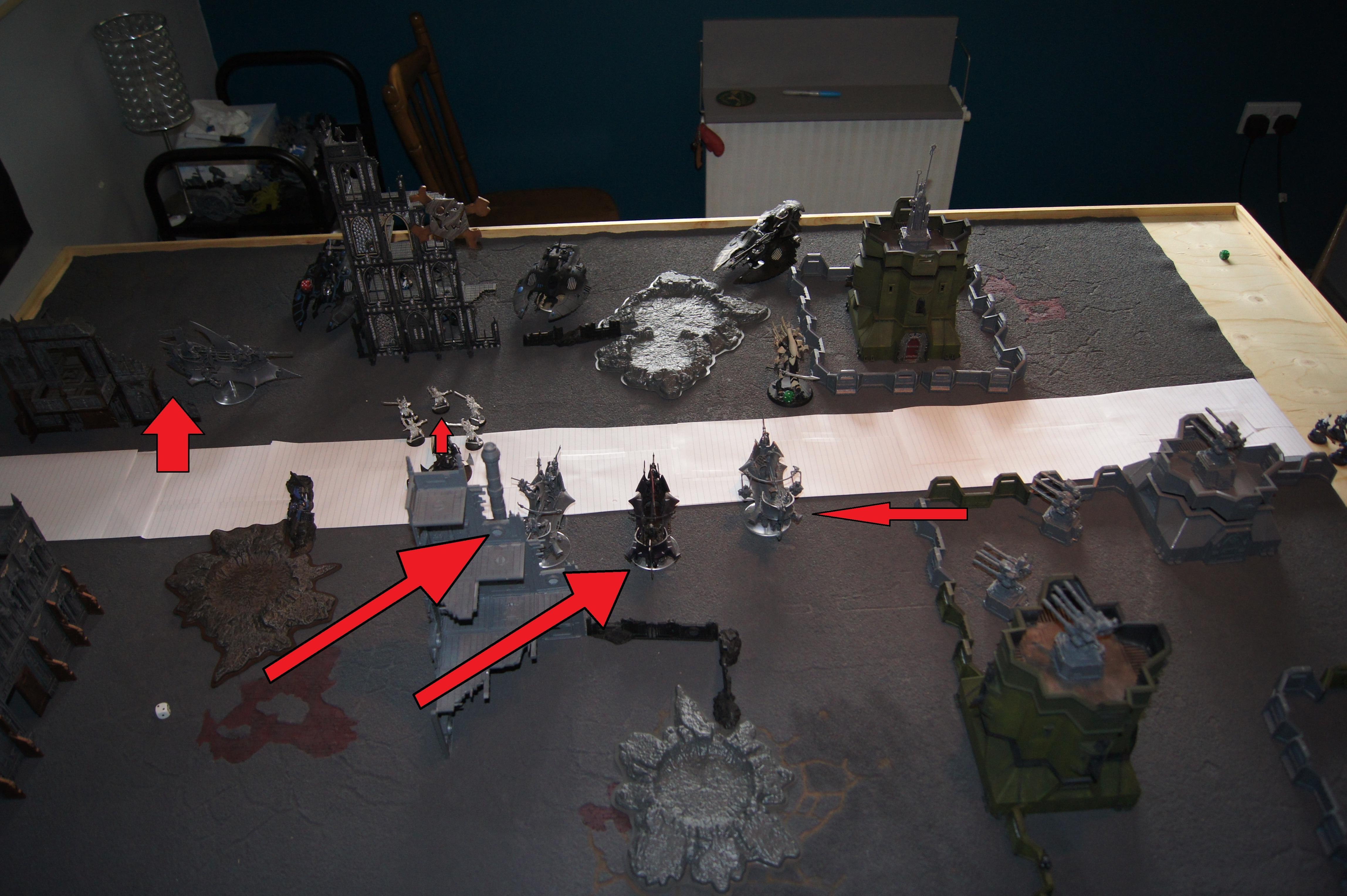 Battle Report, Dark, Eldar
